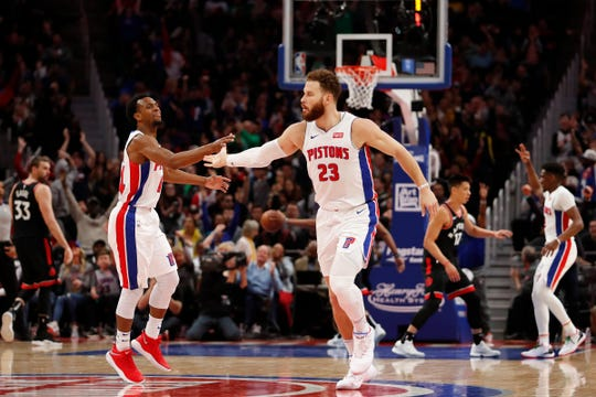 Can Blake Griffin guide the Pistons to the playoffs for the first time since 2016? Let's find out.