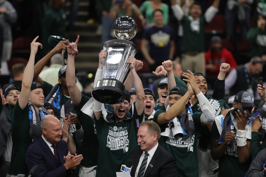 We're not saying Matt McQuaid's 13 3-point attempts and 27 points in the Big Ten title game were unexpected, but the senior had 12 3's and 29 points in his previous three games combined.