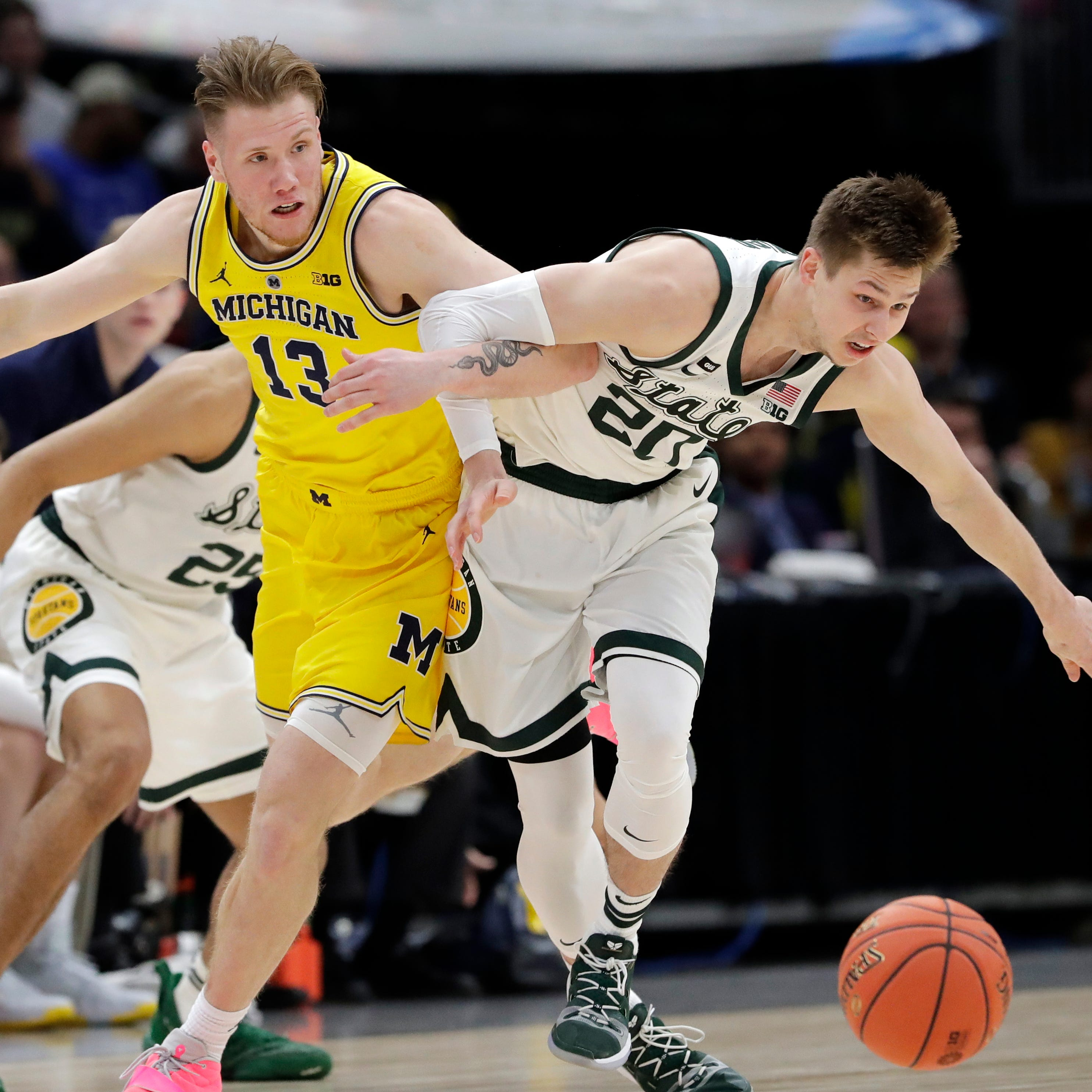 Sweet 16: Where Michigan State, Michigan rank based on NCAA title potential