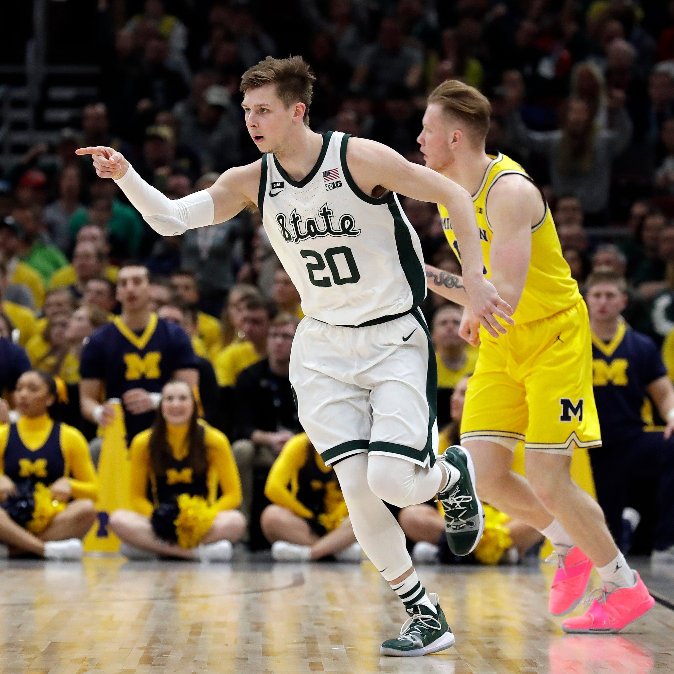 Michigan State beats Michigan — again, this time for Big Ten title, 65-60