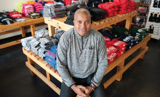 Former NBA and University of Detroit-Mercy basketball player Desmond Ferguson is the owner of Moneyball Sportswear. The sports apparel store is opening a new location in Southfield on Saturday.
