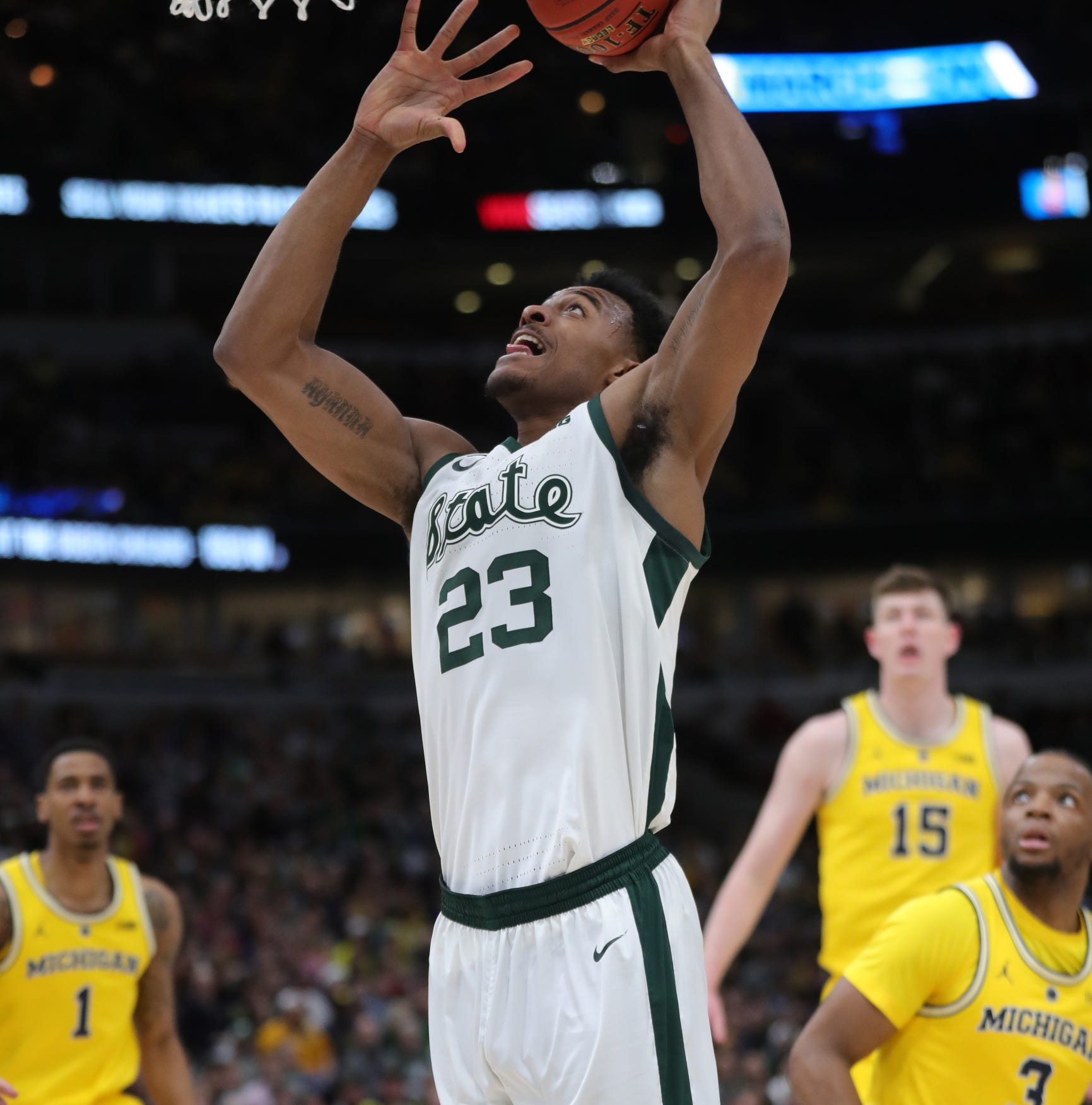ESPN's Dick Vitale cries foul on Michigan State, Michigan seeding in NCAA