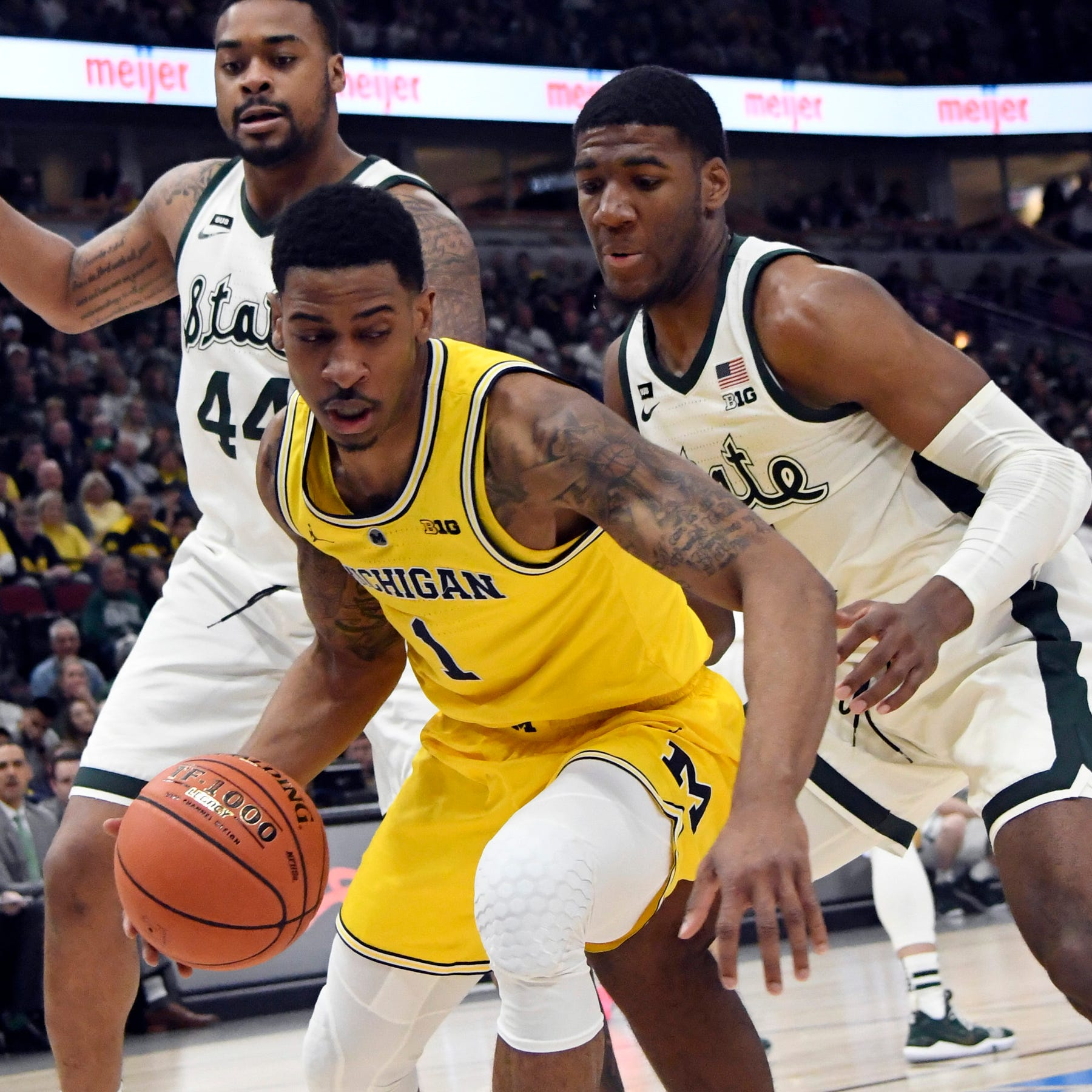 Michigan State leaves no doubt in three-game sweep of Michigan