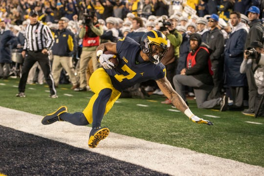 Tarik Black is part of a talented group of receivers returning for Michigan.