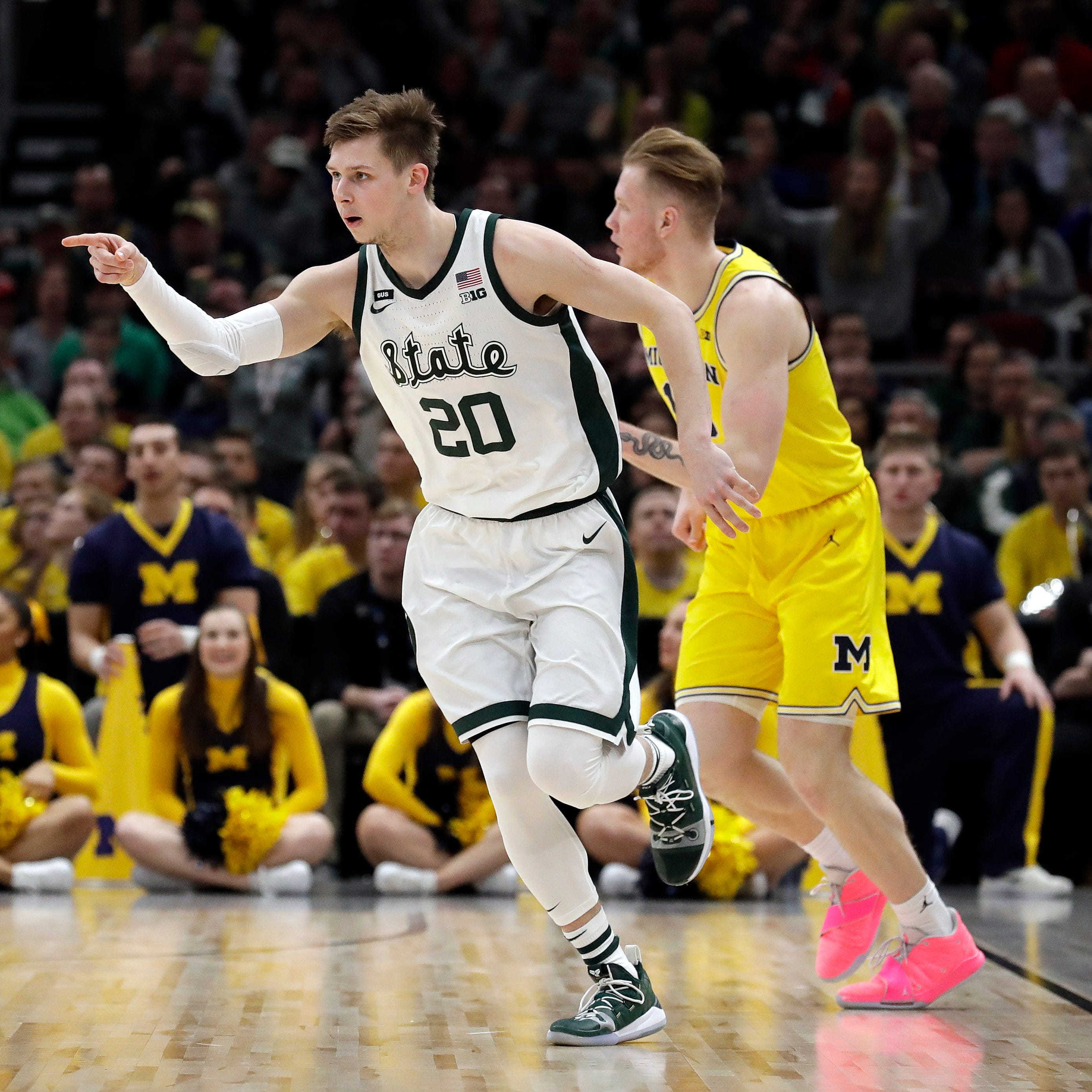 'We just stuck together': McQuaid, Winston power Michigan State to Big Ten tournament title