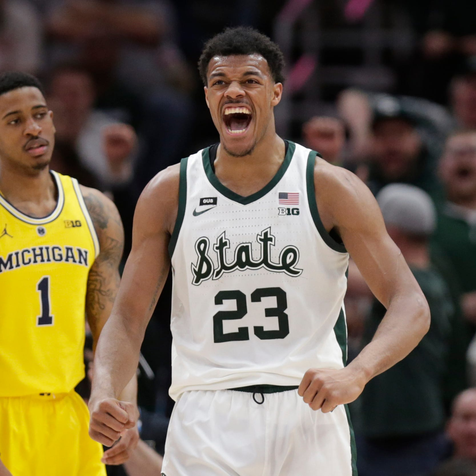 Michigan State a No. 2 seed in East, will open NCAA Tournament against Bradley