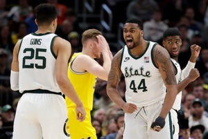 Michigan State draw the No. 6 overall seed in the tournament.