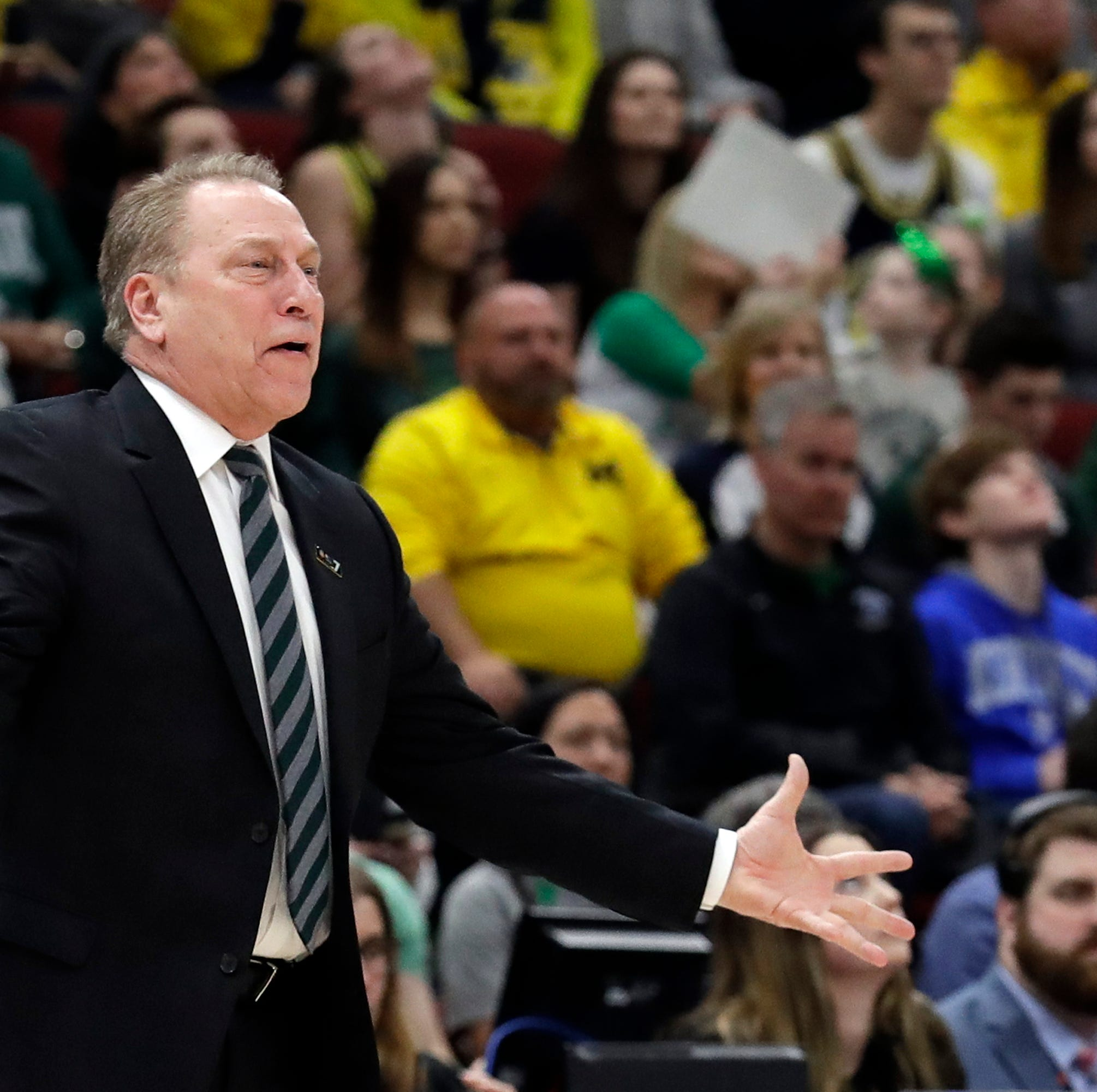 Izzo shrugs off bracket kerfuffle, focuses on Michigan State's task ahead