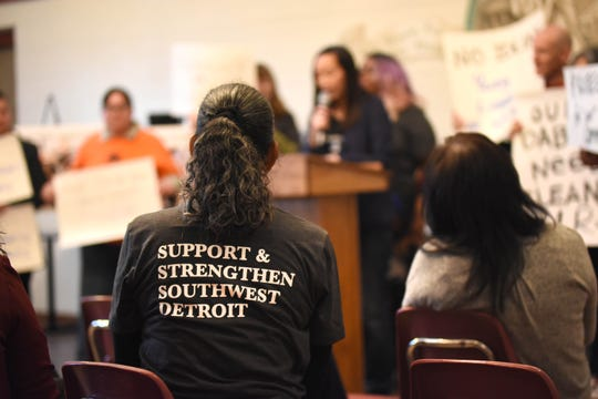 Delray supporters wore t-shirts in unity.