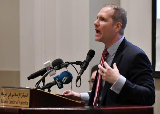 Matthew Schneider is U.S. attorney for the Eastern District of Michigan.