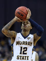 Murray State's Ja Morant is averaging 24.6 points and 10 assists.