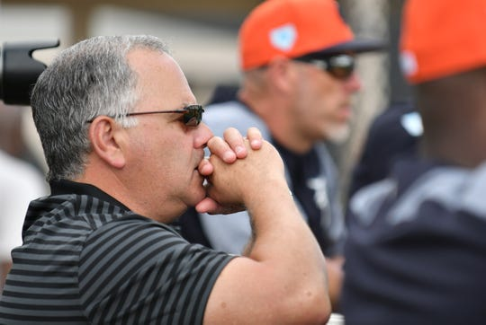 Tigers general manager Al Avila has a lack of position-player prospects.