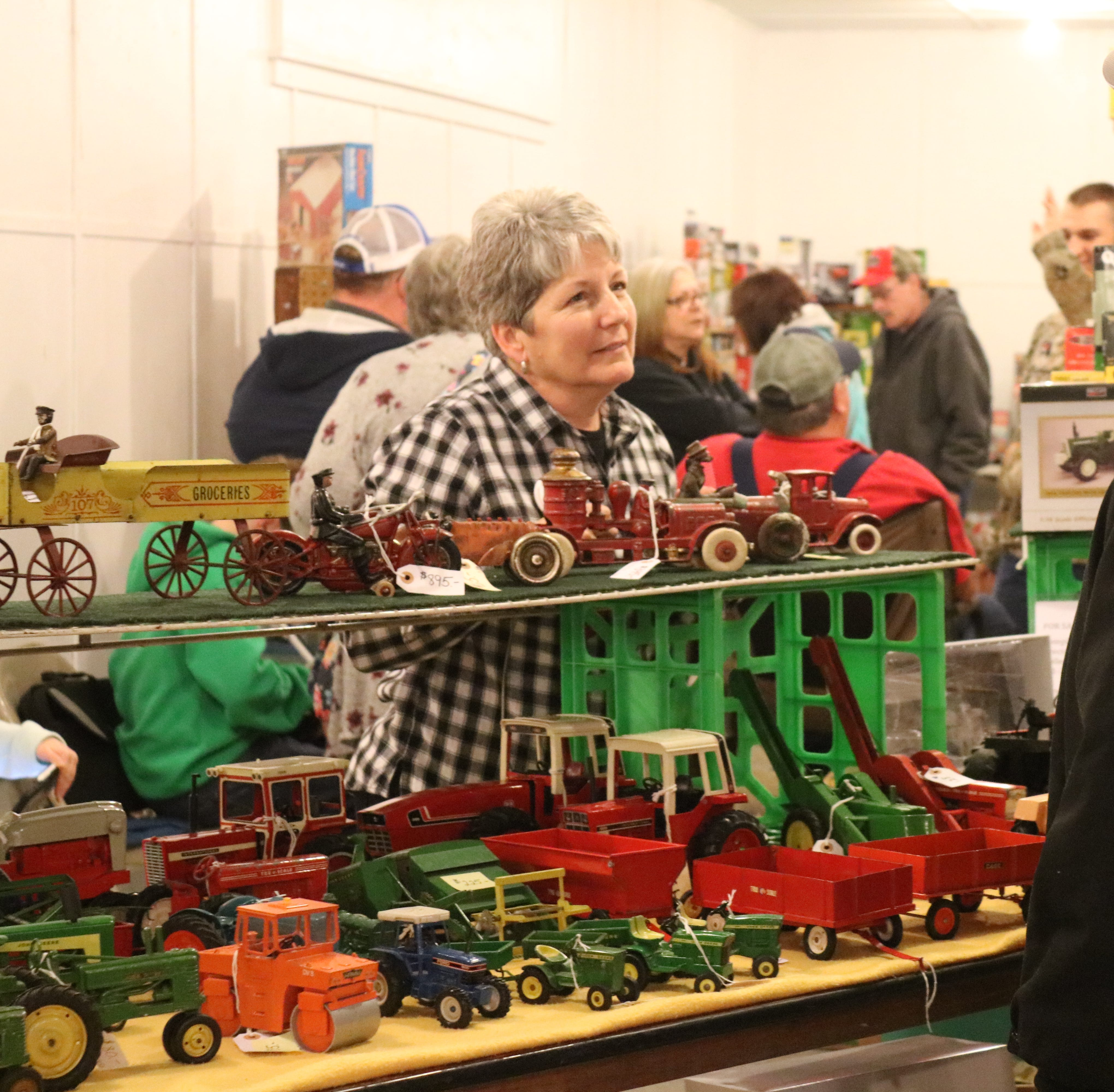 Both old timers and new visitors embrace Fremont Toy Show