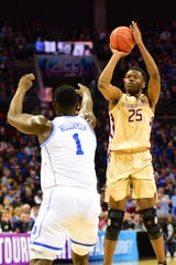 FSU redshirt sophomore forward Mfiondu Kabengele earned ACC 6th Man of the Year honors after averaging  12.9 points and 5.7 rebounds per contest.
