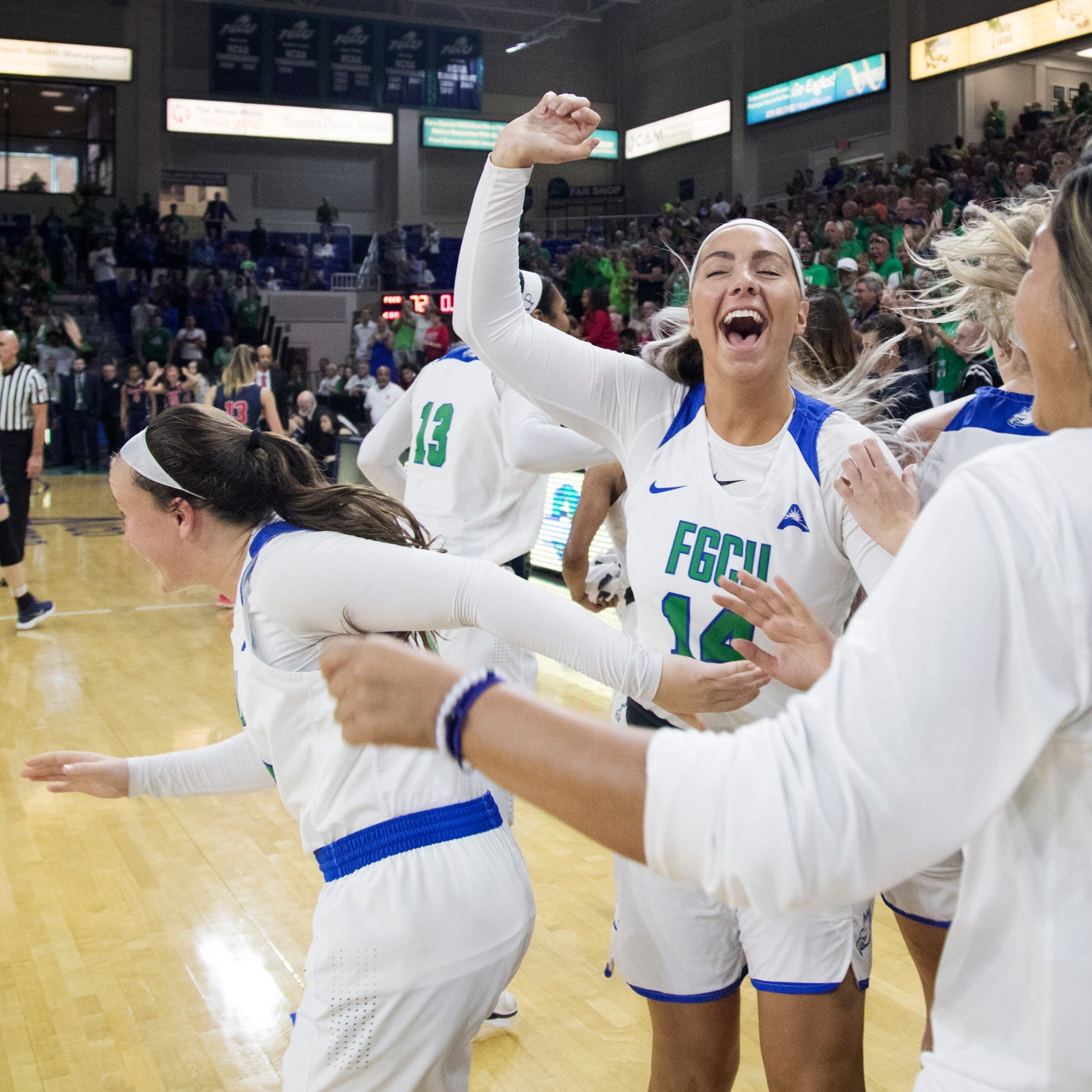 College basketball: FGCU women win ASUN title to earn trip to NCAA tournament