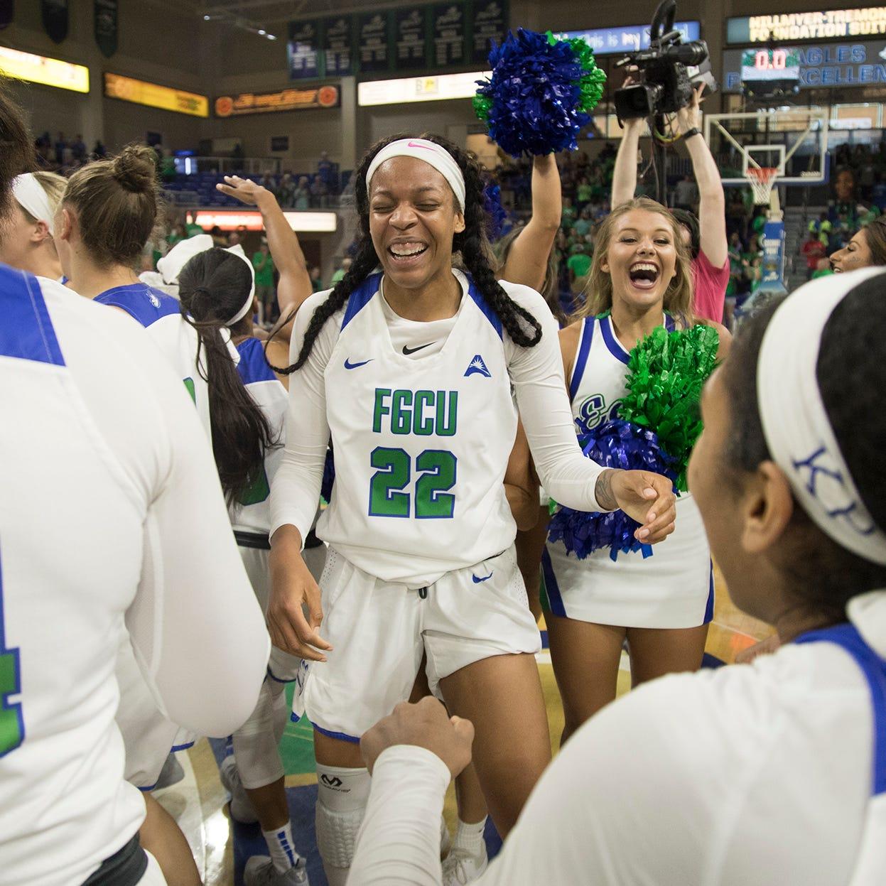 College basketball: FGCU women win ASUN title to earn trip to NCAA tournament