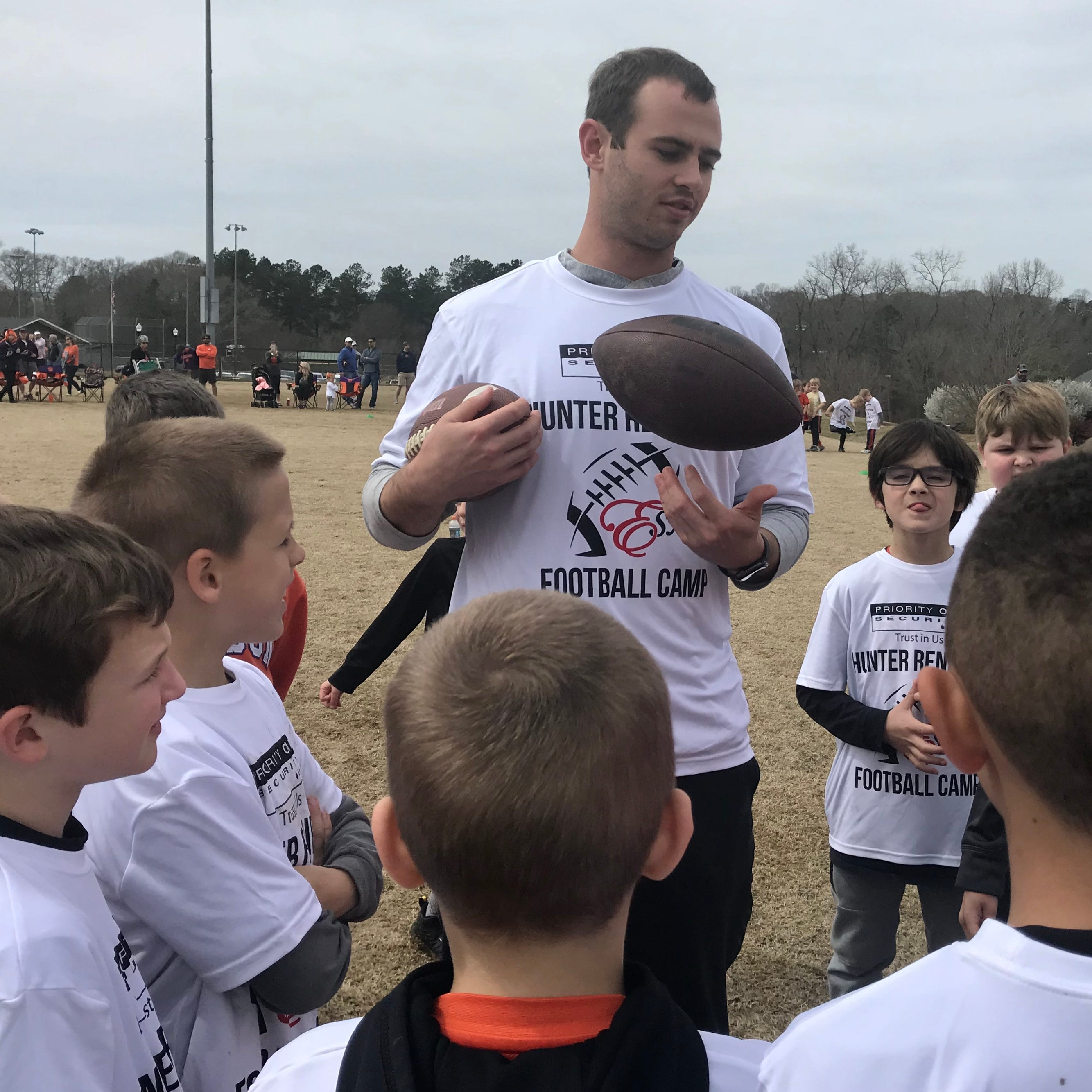 Dream team? Ex-Clemson football standout Hunter Renfrow 'woke up' to Patriots, Tom Brady