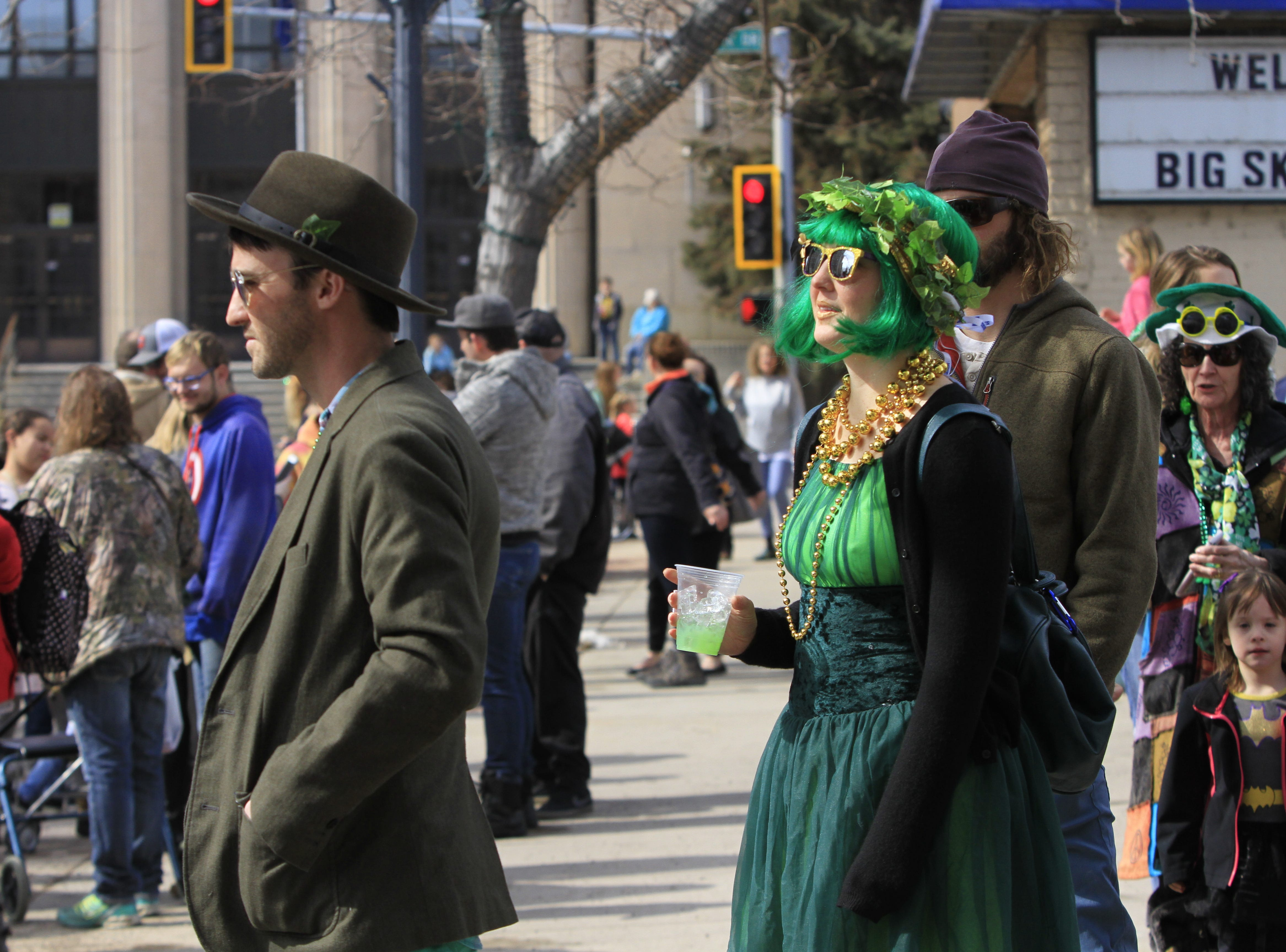Great Falls' St. Patrick's Day parade on Saturday made the most of the beautiful weather for a festive gathering.