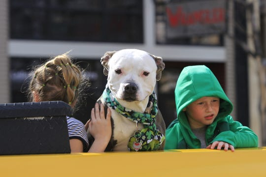 Residents were eager to get outside for the St. Patrick's Day parade in Great Falls Saturday when the temperature reached 43 degrees.