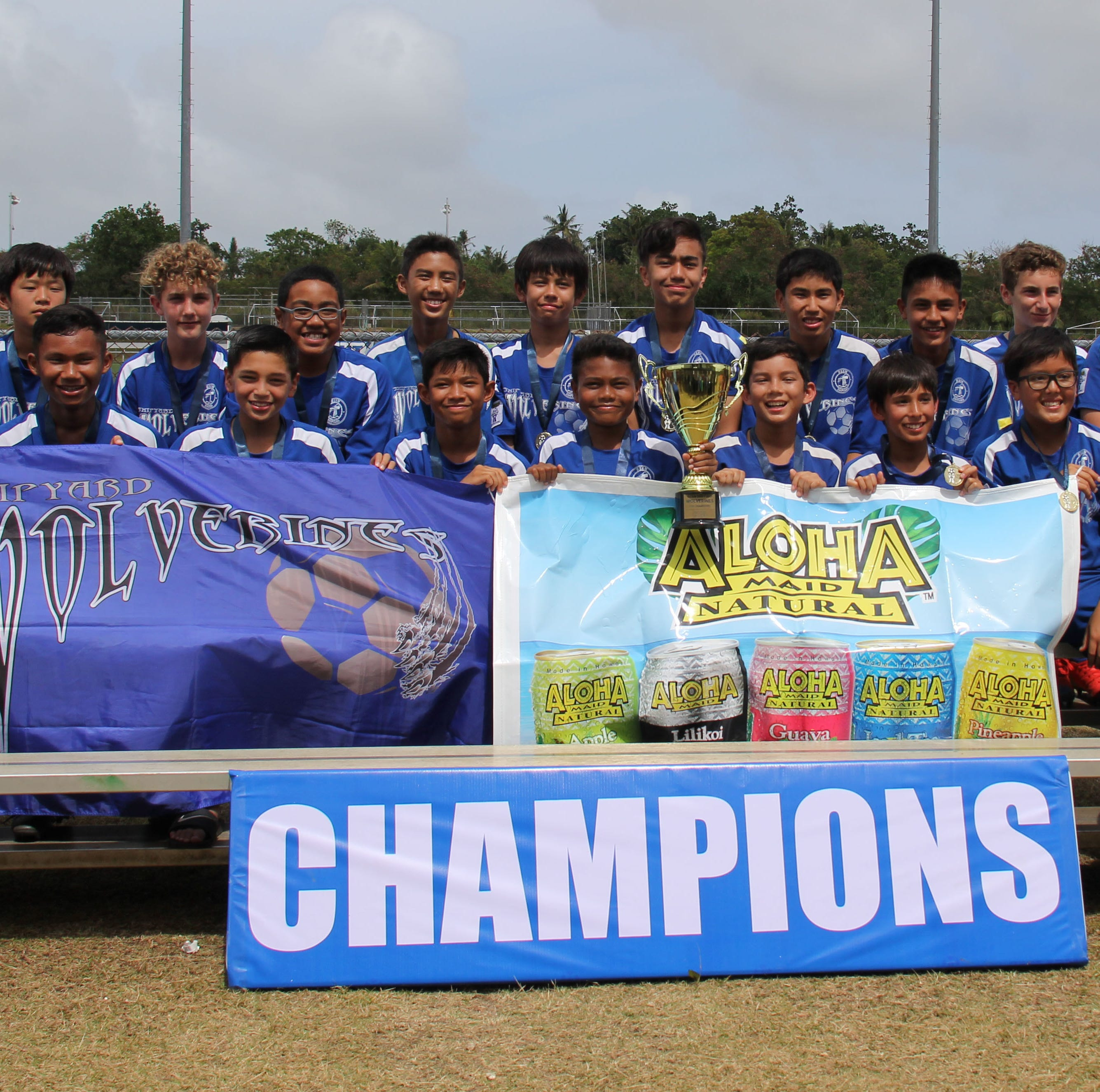 Wolverines take top place in Aloha Maid soccer league