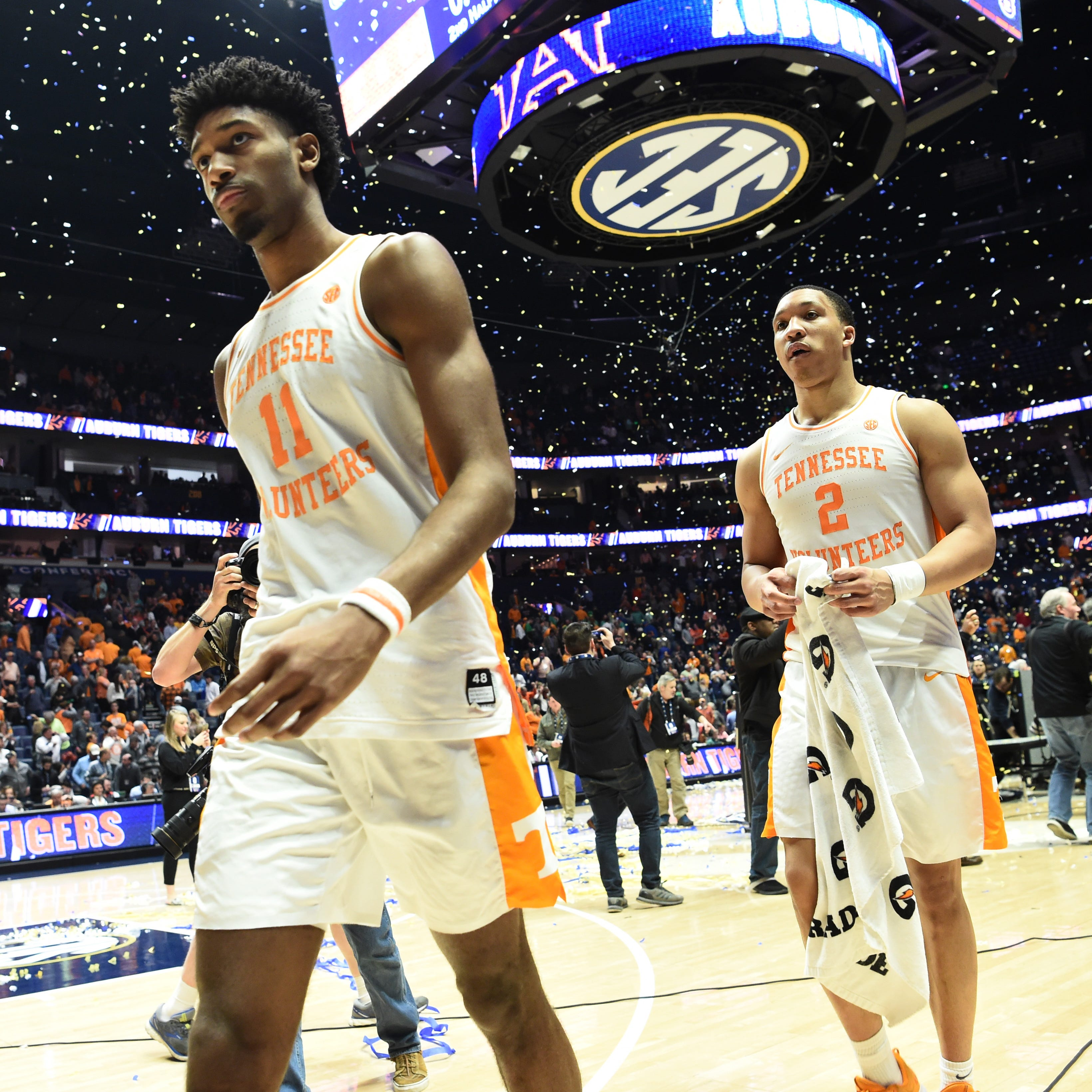 Tennessee basketball blown out by Auburn in SEC Tournament title game