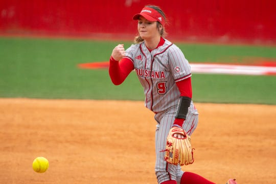 UL ace pitcher Summer Ellyson pitches Sunday in the final game of a series sweep of Troy at Yvette Girouard Field.