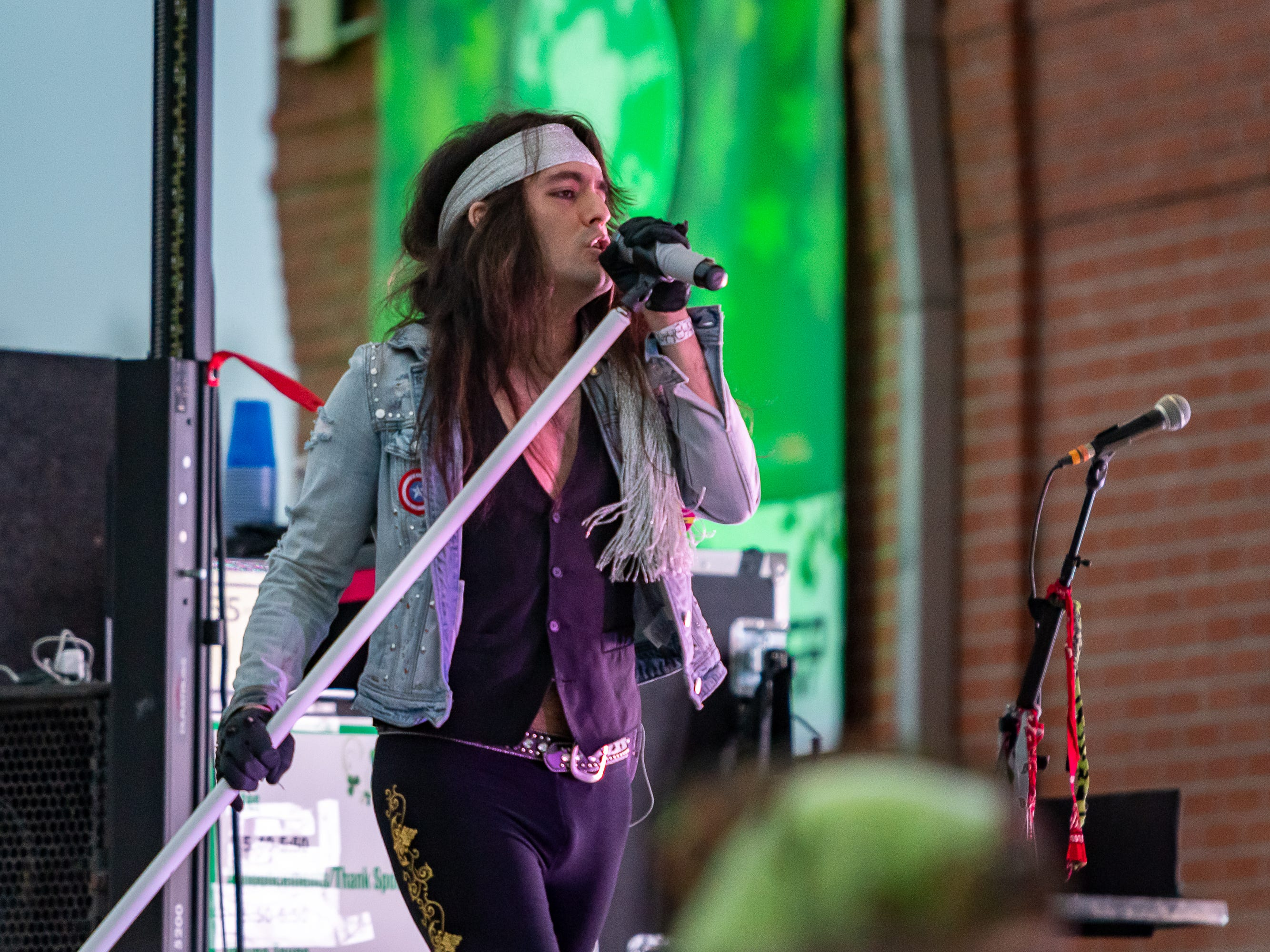 Patty in the Parc featuring Wayne Toups, LA Roxx and Blues Traveler. Saturday, March 16, 2019.