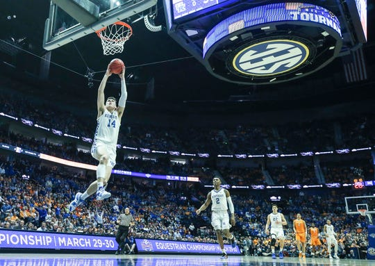 Tyler Herro, a Whitnall High School graduate, is averaging 14.2 points a game in his freshman season at  Kentucky after initially committing to Wisconsin.