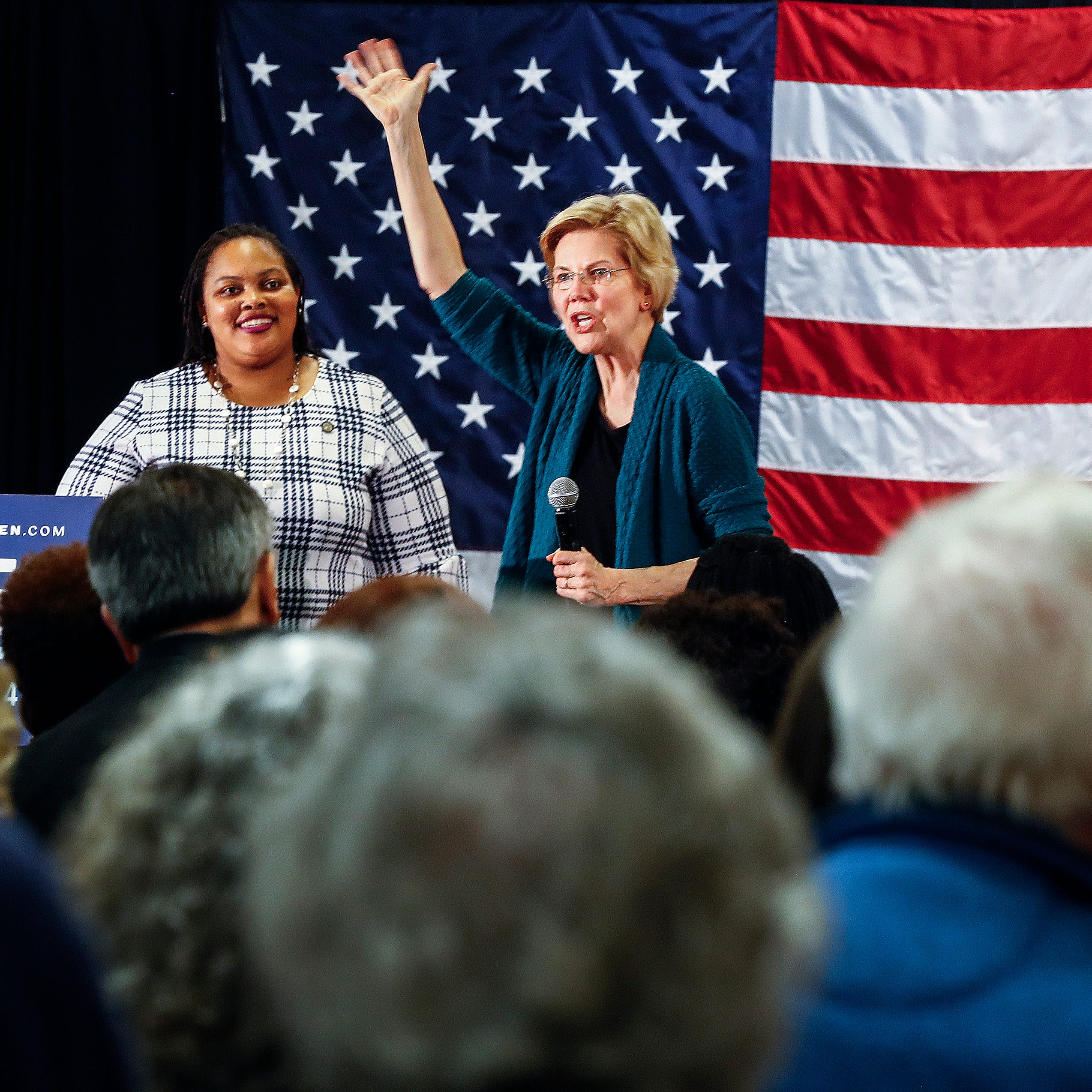 Presidential hopeful Elizabeth Warren campaigns in Memphis, kicking off three-state tour