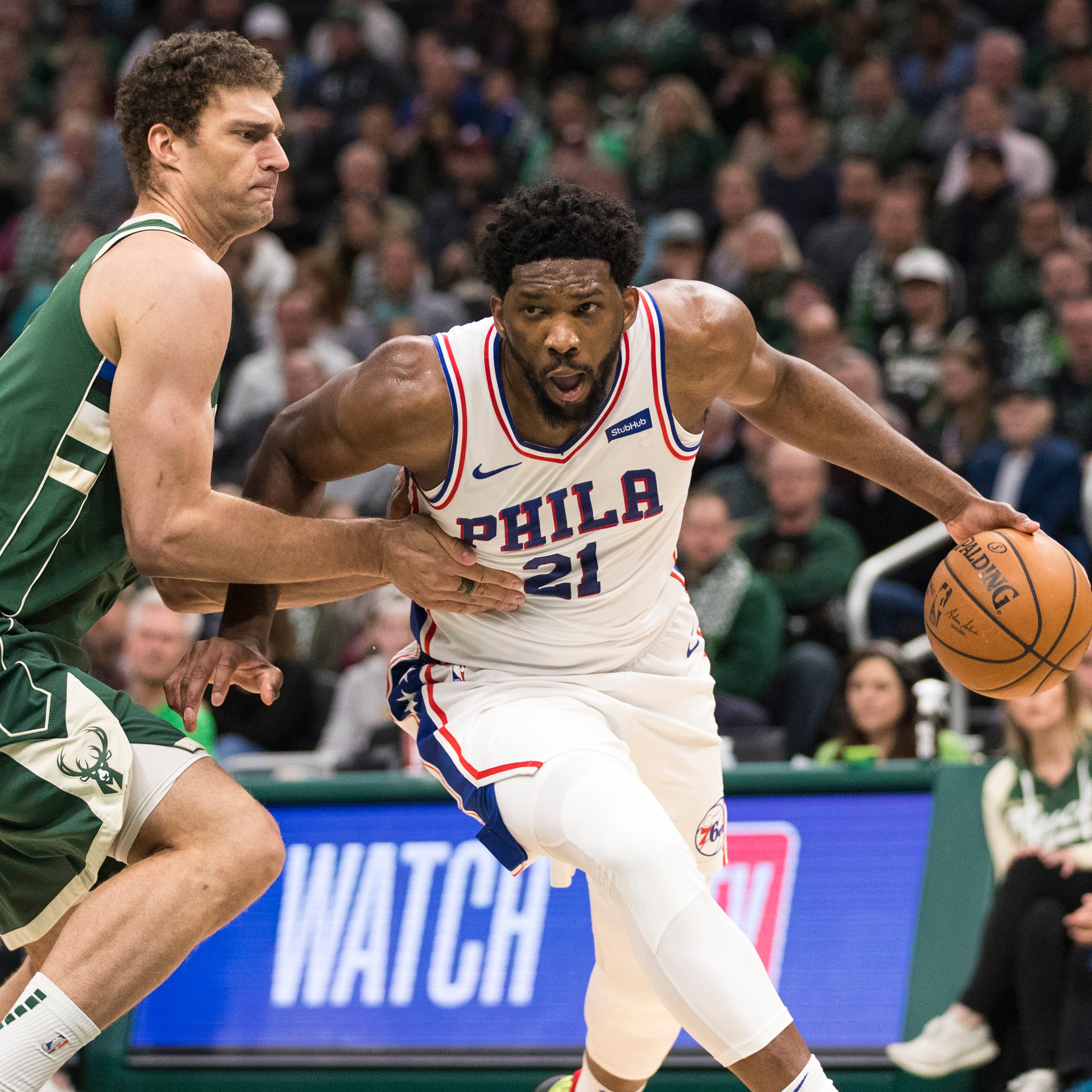 76ers 130, Bucks 125: Joel Embiid overshadows Giannis' career-high 52-point outburst