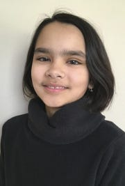 10-year-old Maya Jean Jadhav of Fitchburg wins the 2019 Badger State Spelling Bee