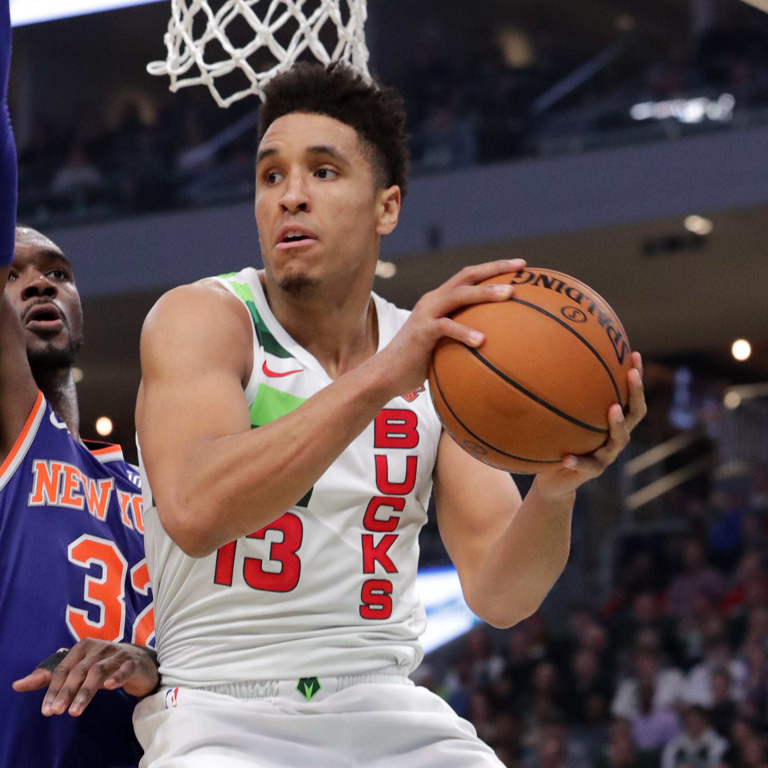 The Bucks' Malcolm Brogdon is likely to miss playoff time with an injury