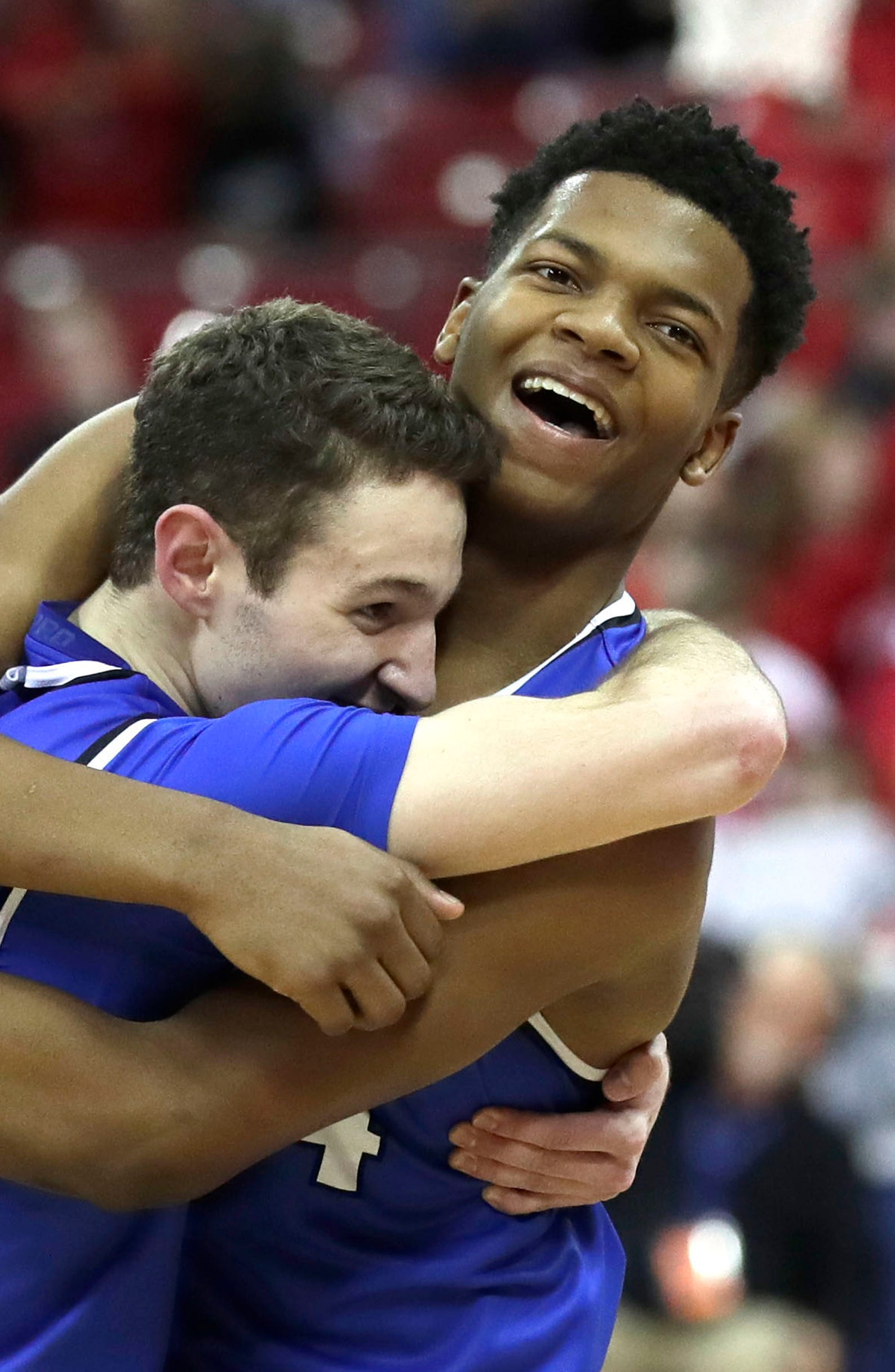 Photos: WIAA Division 1 boys basketball state championship game