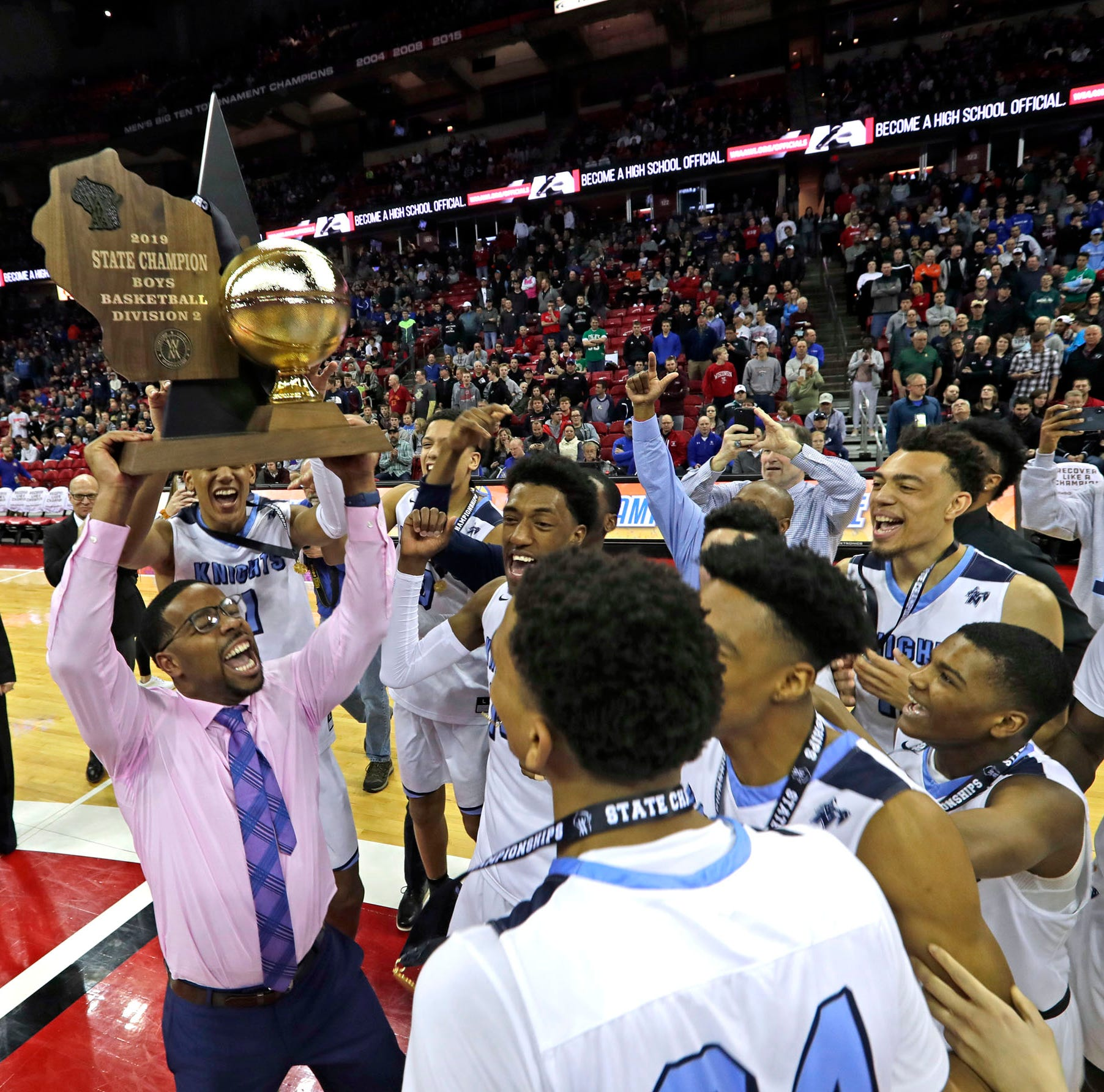 Nicolet captures its first state title with an electrifying performance against Milwaukee Washington