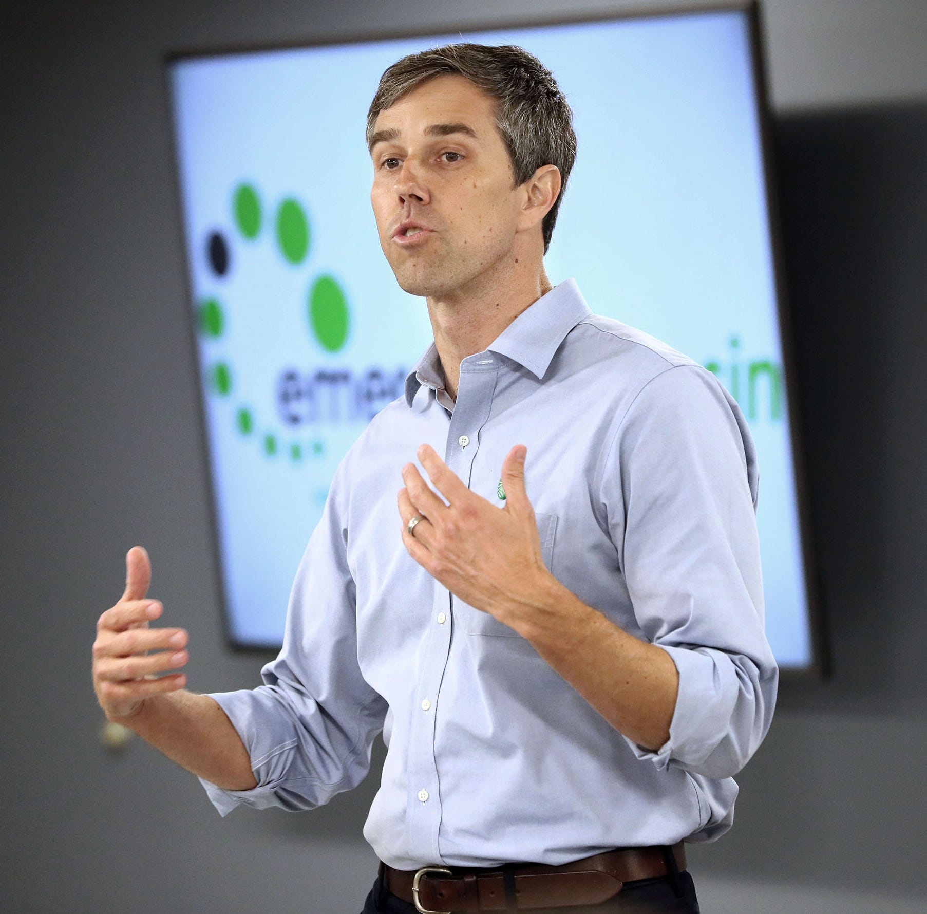 A stop at Culver's was part of Beto O'Rourke's visit to Wisconsin