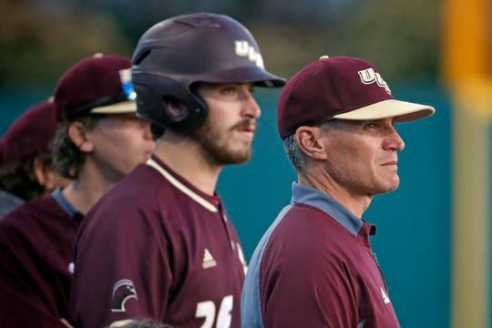 "ULM coach Michael Federico called pitching an ""Achilles heel"" after the Warhawks were swept by Coastal Carolina."