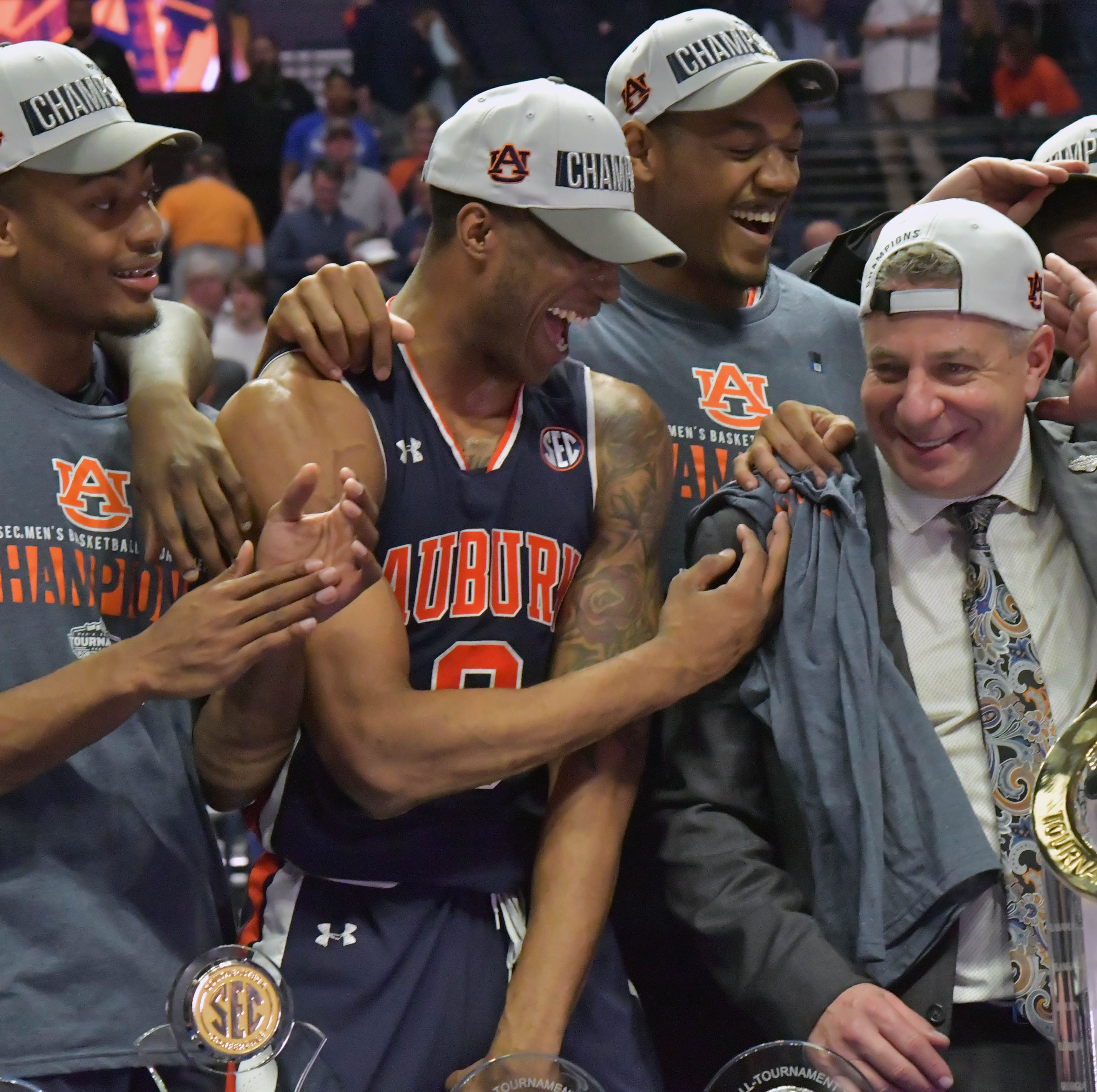 Auburn earns No. 5 seed in NCAA Tournament, will face New Mexico State in first round