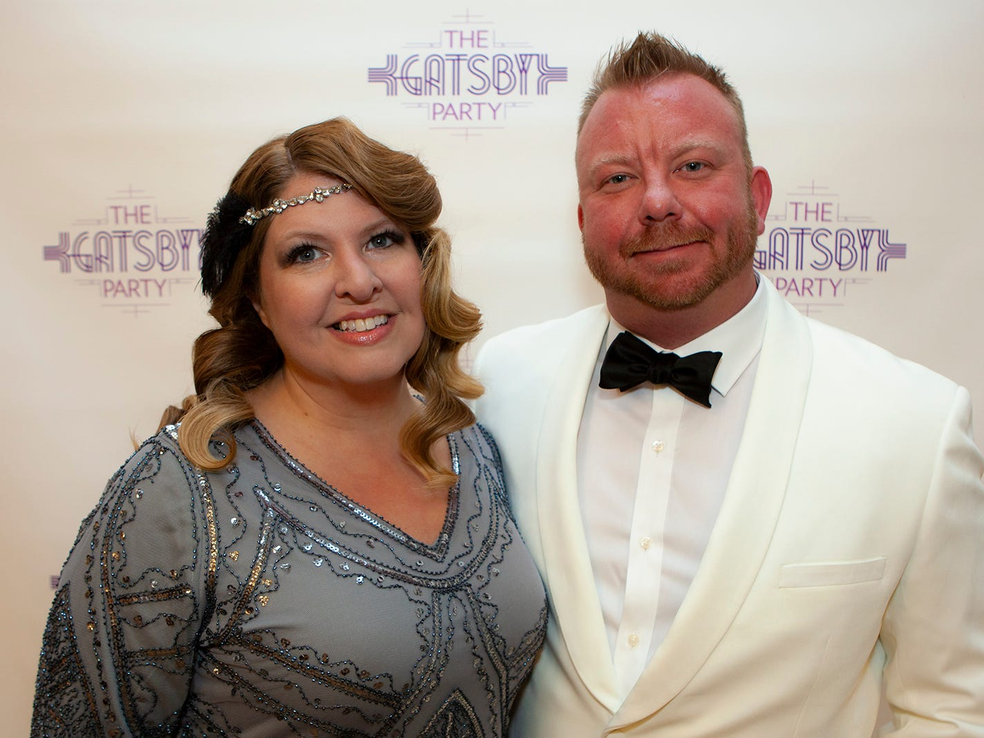 Ladawna and Jeremy Parham at The Gatsby Party, hosted by the Alzheimer's Association at The View at Fountains Saturday, March 16, 2019.