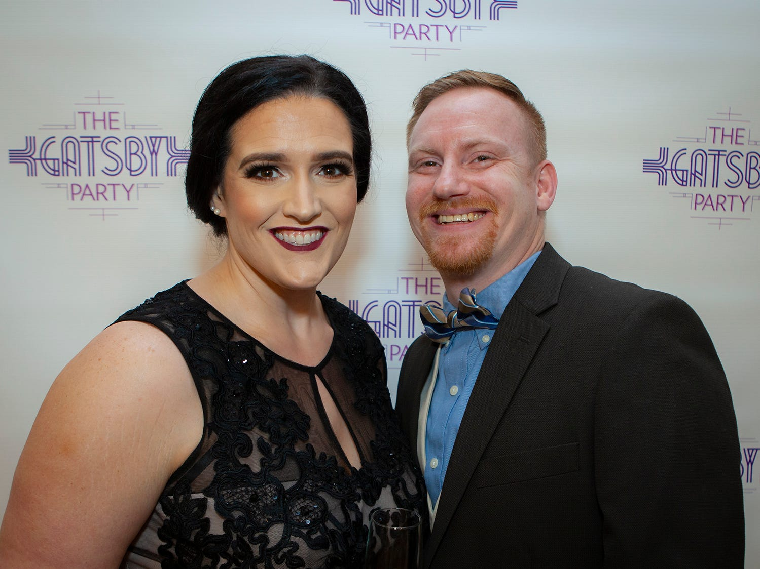 Serena and Donovan Lack at The Gatsby Party, hosted by the Alzheimer's Association at The View at Fountains Saturday, March 16, 2019.