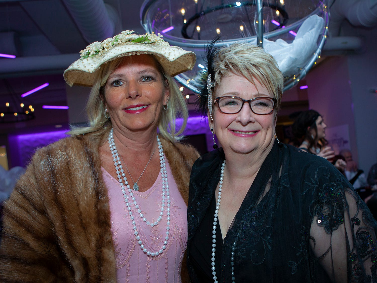 The sixth annual Gatsby Party benefitting the Alzheimer's Association was held Saturday, March 16 at The View at Fountains.