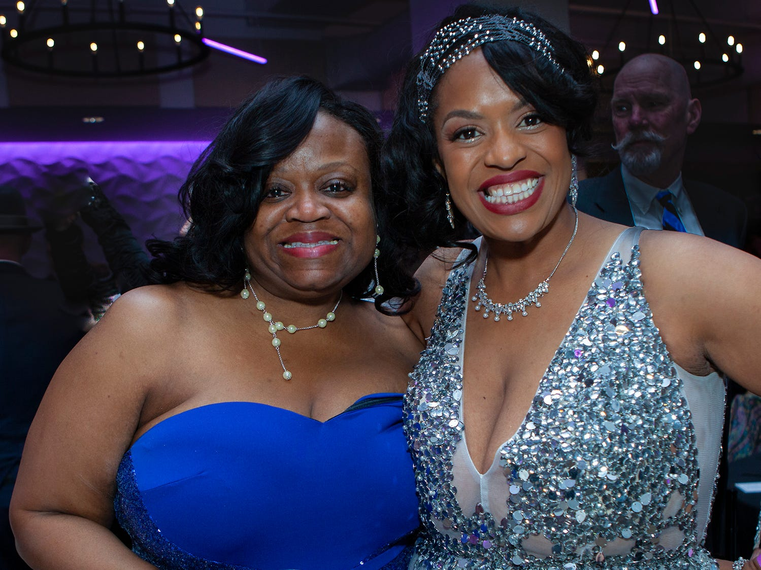 Bobbie Thomas and Michelle Lynn Thomas at The Gatsby Party, hosted by the Alzheimer's Association at The View at Fountains Saturday, March 16, 2019.