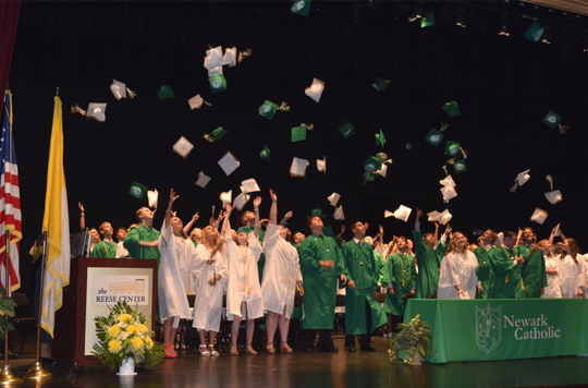 Newark Catholic graduation would be held in its new Center for Performing Arts, a 500-seat auditorium, instead of at other local venues like Ohio State-Newark.
