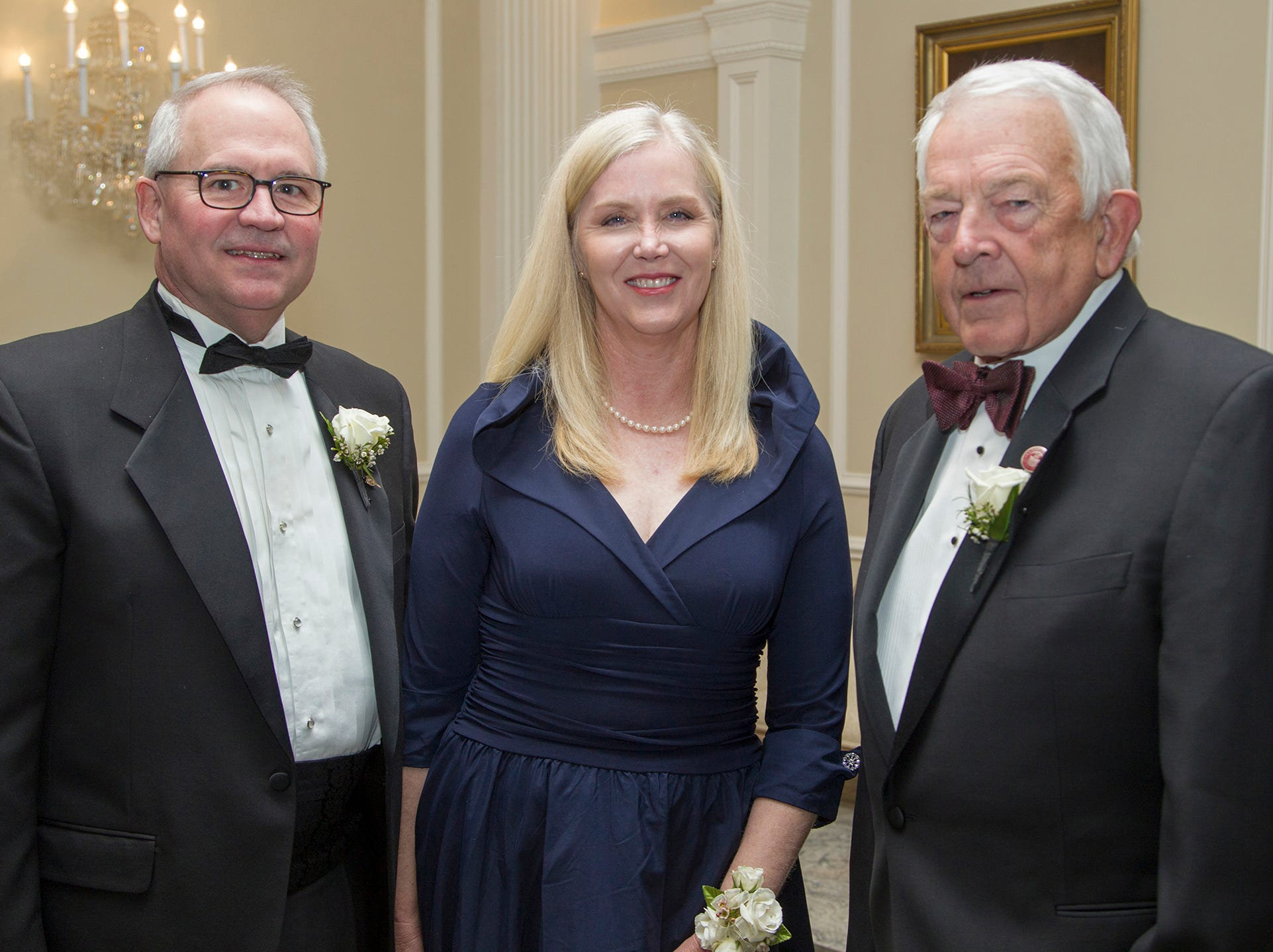 Lee Maas, Beth Maas, William F. Dator. Ramapo College held its 37th Annual Distinguished Citizens Dinner at Rockleigh Country Club. 03/02/2019