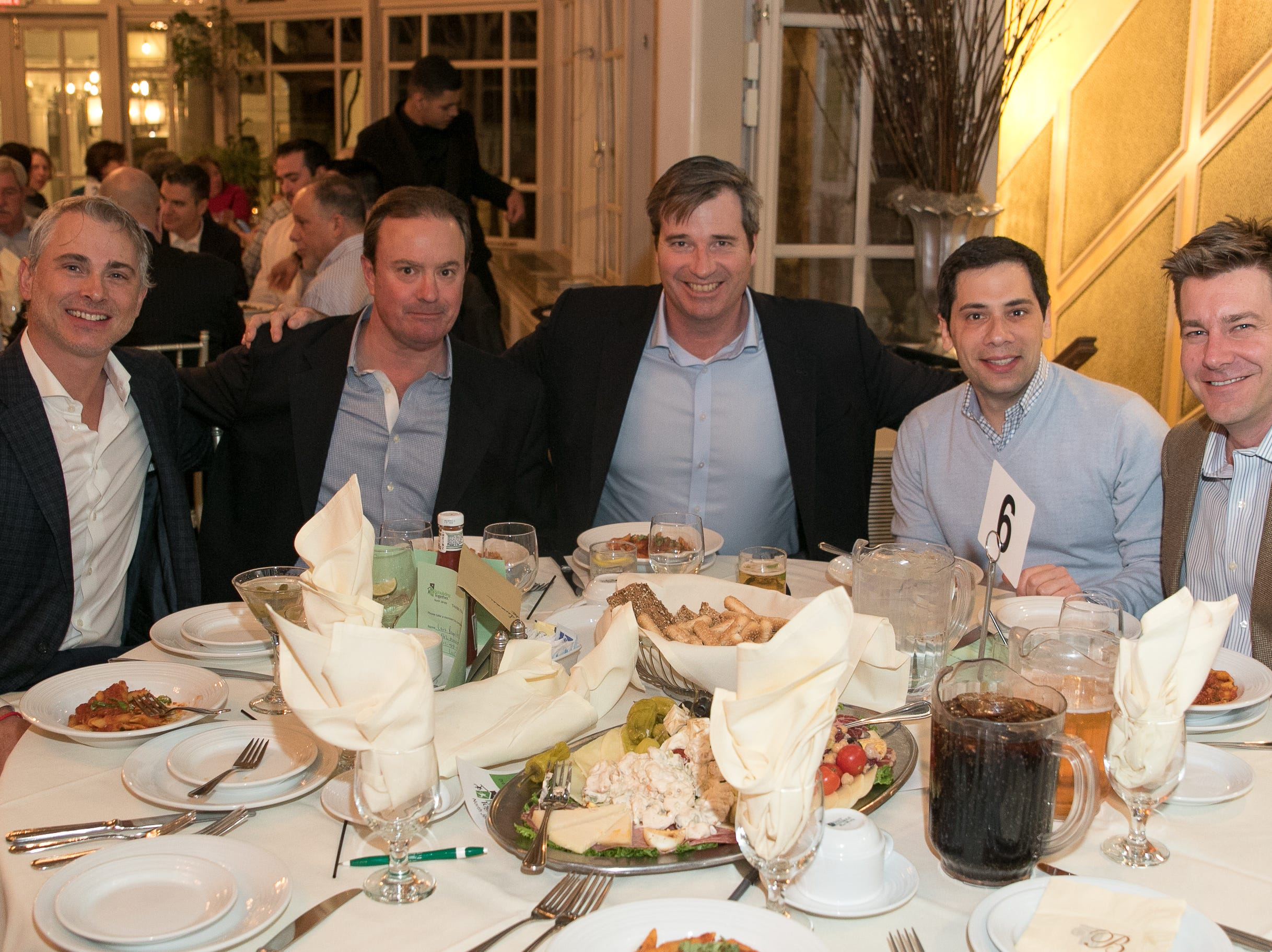 Rebuilding Together North Jersey held its third annual Beefsteak Dinner with former NY Giants Howard Cross, Amani Toomer, and Sam Garnes at the Brownstone in Paterson. 03/07/2019
