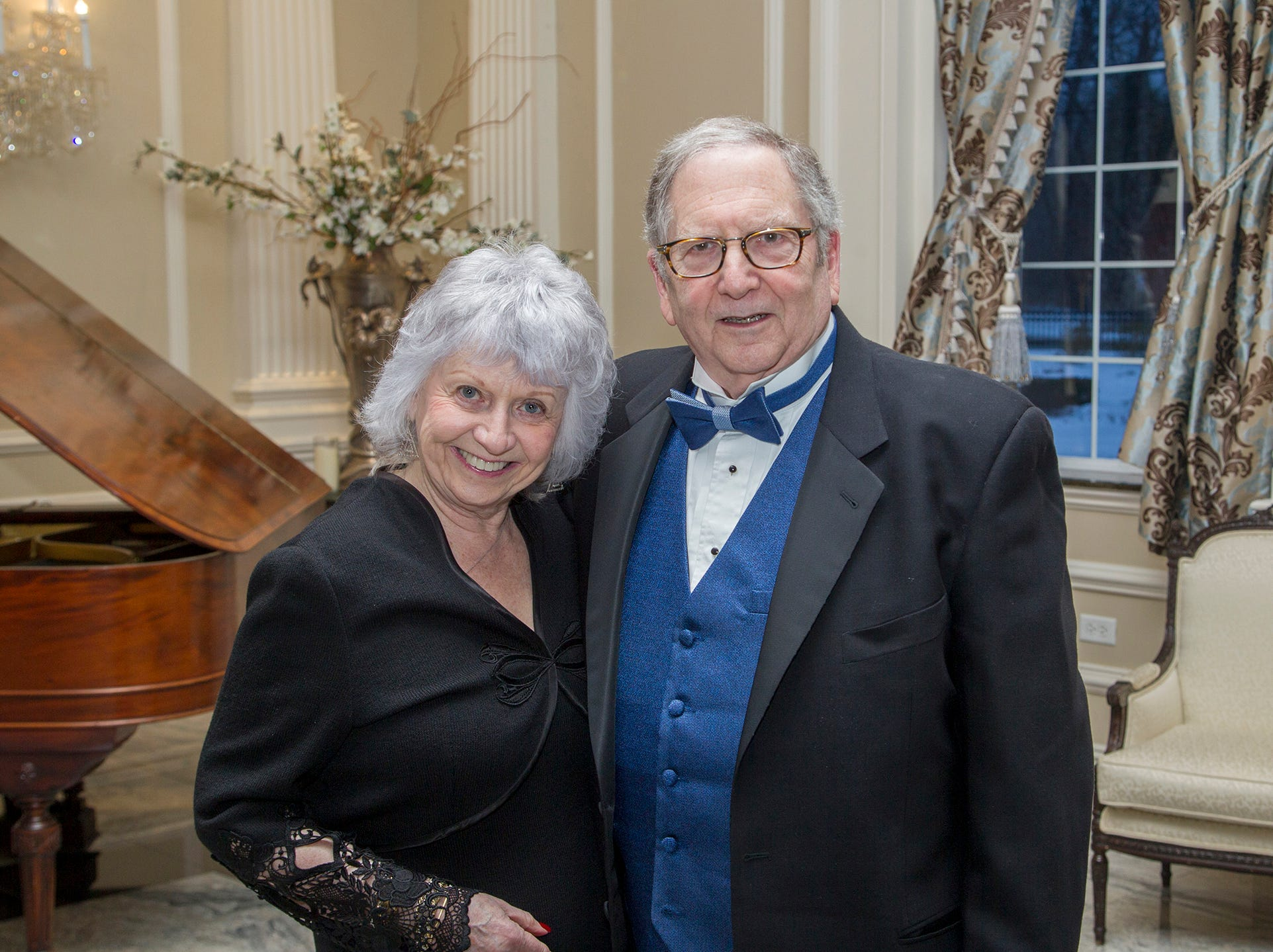 Sharlene and Paul Vichness. Ramapo College held its 37th Annual Distinguished Citizens Dinner at Rockleigh Country Club. 03/02/2019