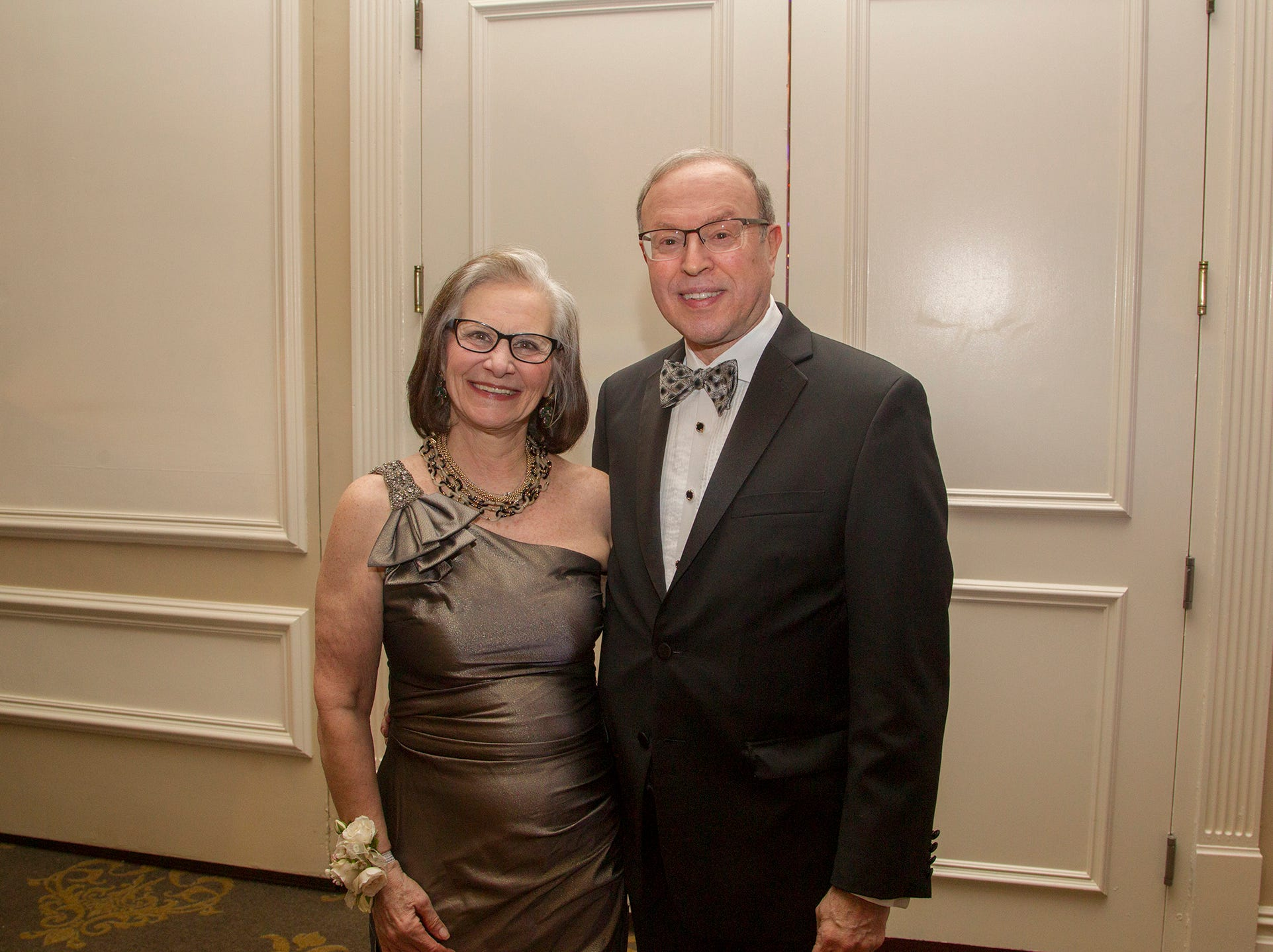 Florence and Murray Sabrin. Ramapo College held its 37th Annual Distinguished Citizens Dinner at Rockleigh Country Club. 03/02/2019