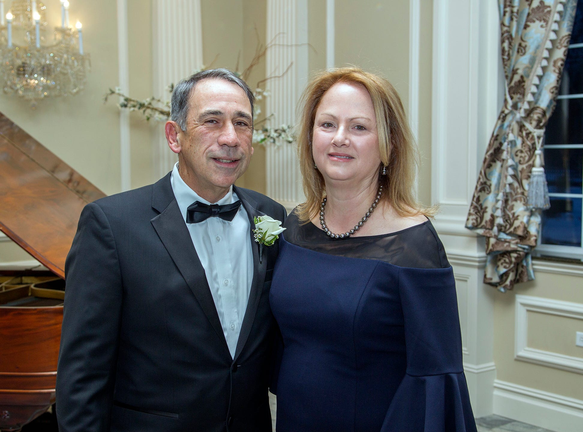 Eileen and Roy Putrino. Ramapo College held its 37th Annual Distinguished Citizens Dinner at Rockleigh Country Club. 03/02/2019