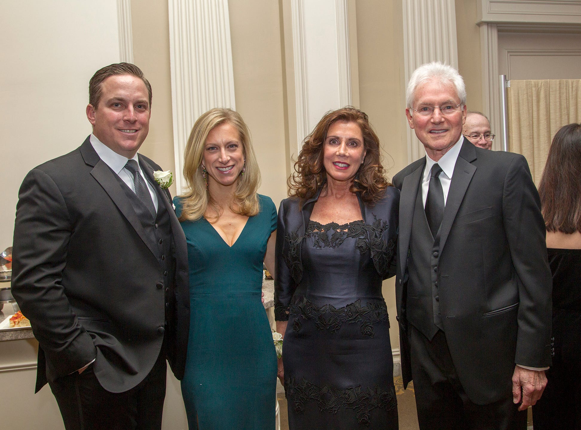 Peter and Lauren Seminara, Debra Perry, James Santomier. Ramapo College held its 37th Annual Distinguished Citizens Dinner at Rockleigh Country Club. 03/02/2019