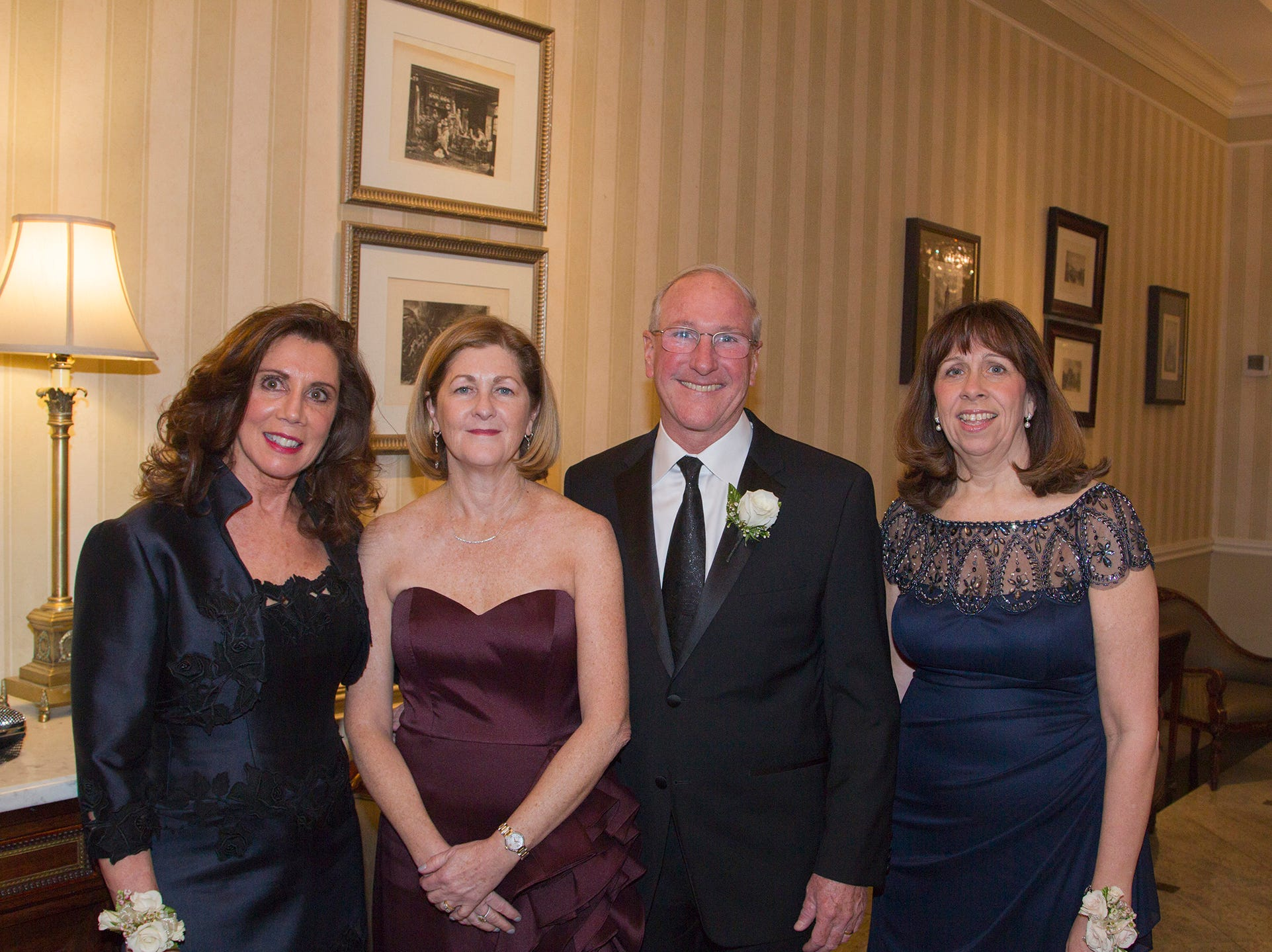 Debra Perry. Jean Colman, Vin Colman, Cathleen Davey. Ramapo College held its 37th Annual Distinguished Citizens Dinner at Rockleigh Country Club. 03/02/2019