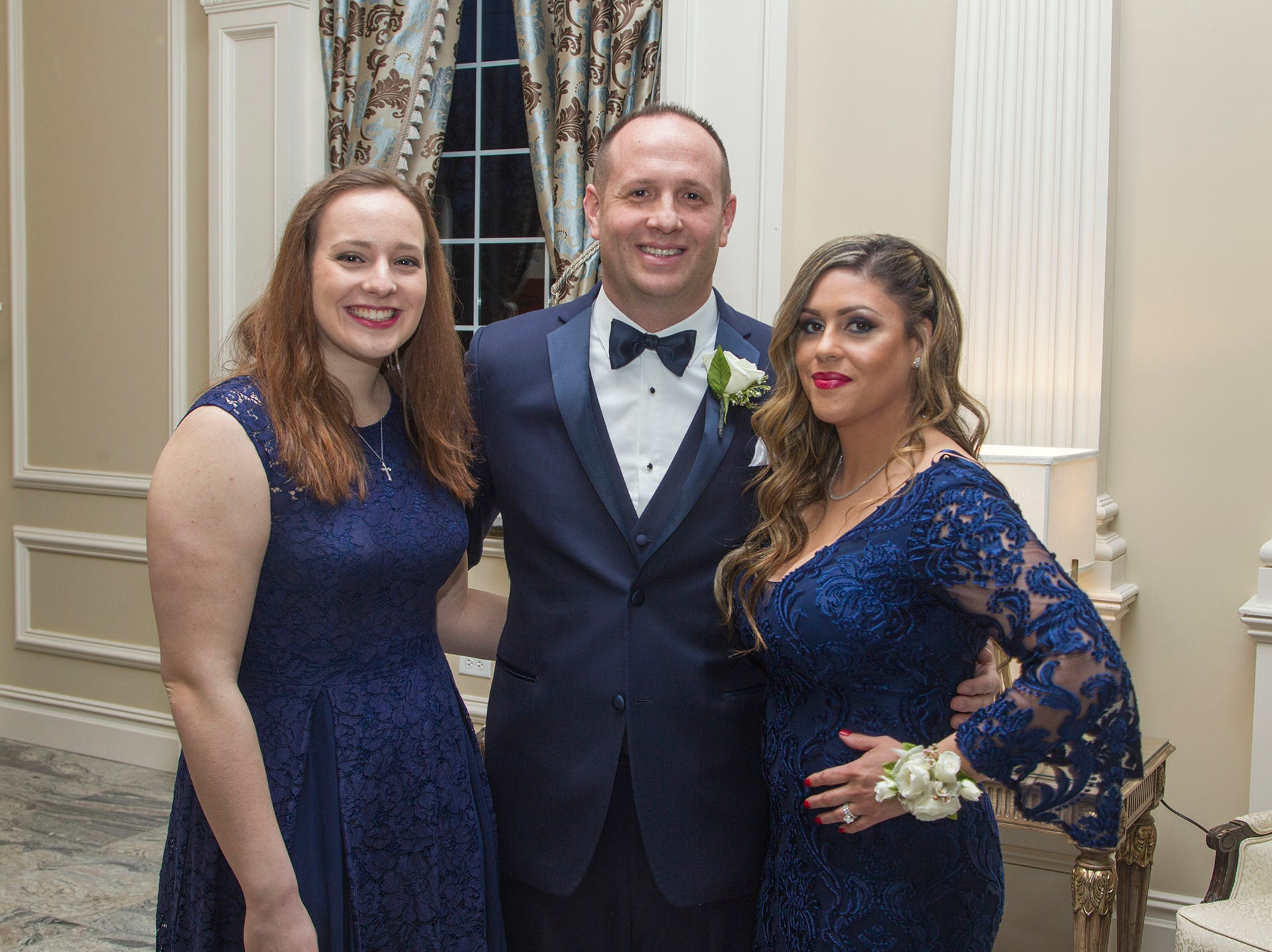 Rebecca Citarella, Michael and Fran Hettesheimer. Ramapo College held its 37th Annual Distinguished Citizens Dinner at Rockleigh Country Club. 03/02/2019
